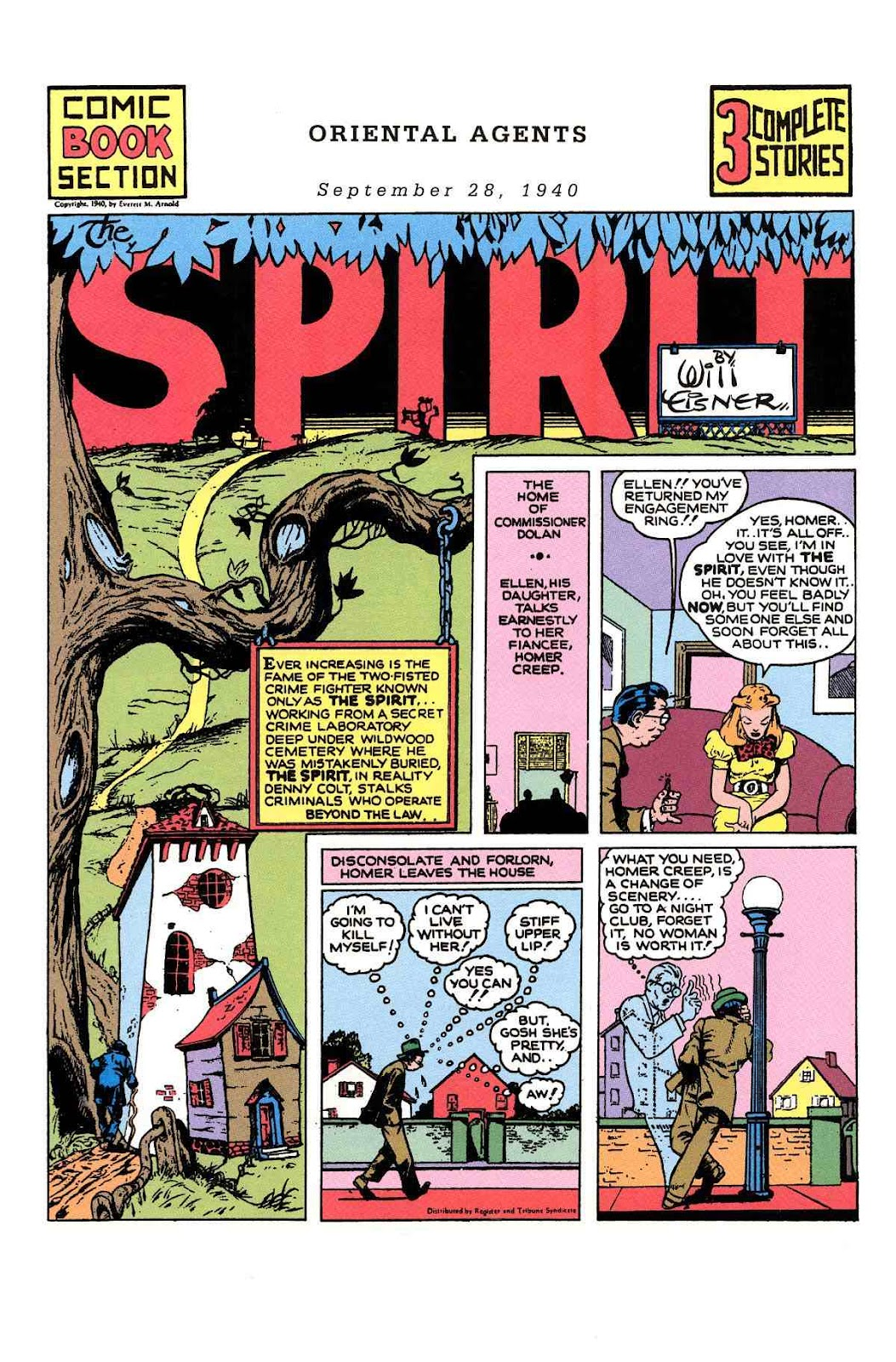 Read online Will Eisner's The Spirit Archives comic -  Issue # TPB 1 (Part 2) - 21