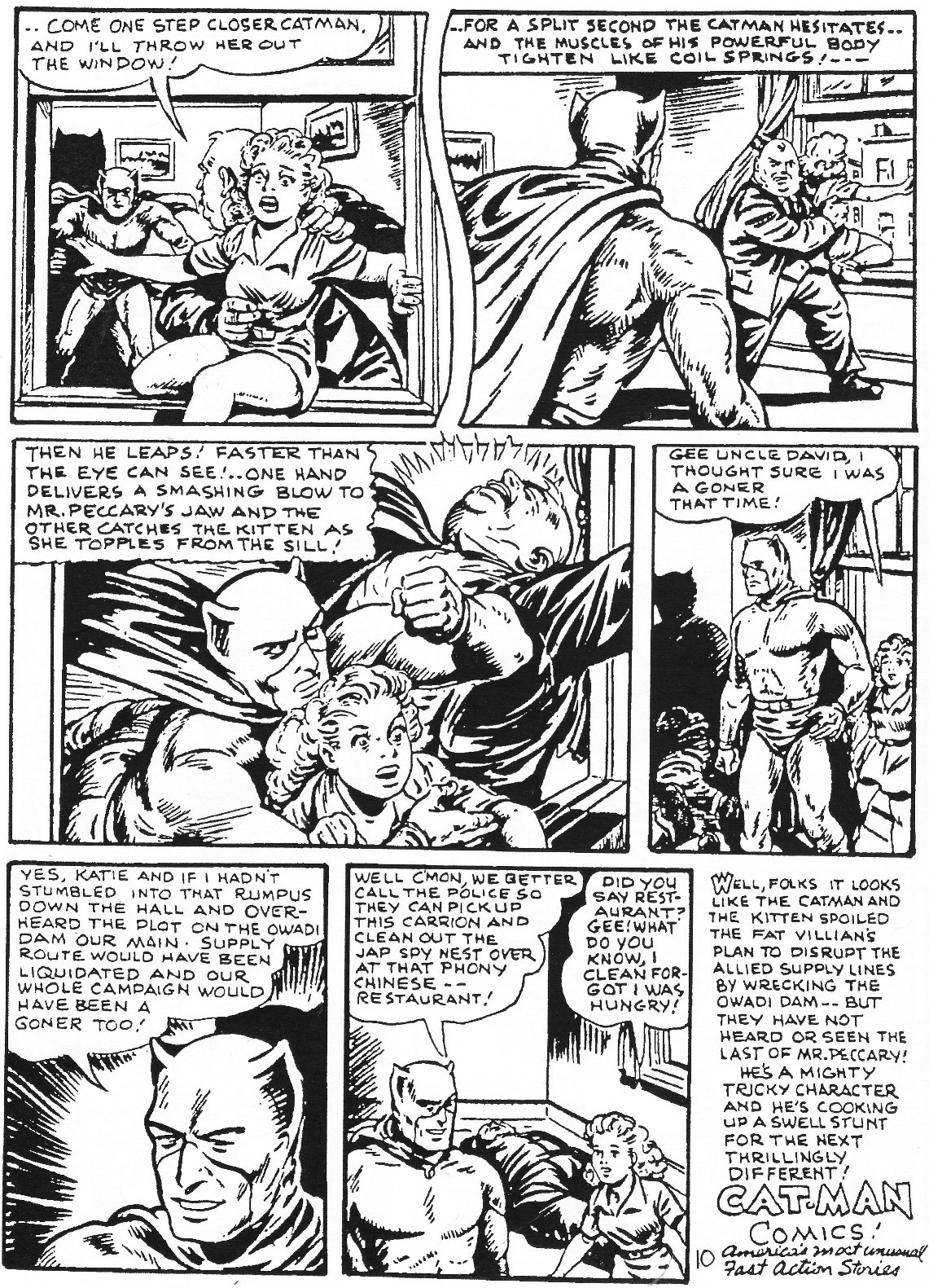 Read online Men of Mystery Comics comic -  Issue #65 - 66