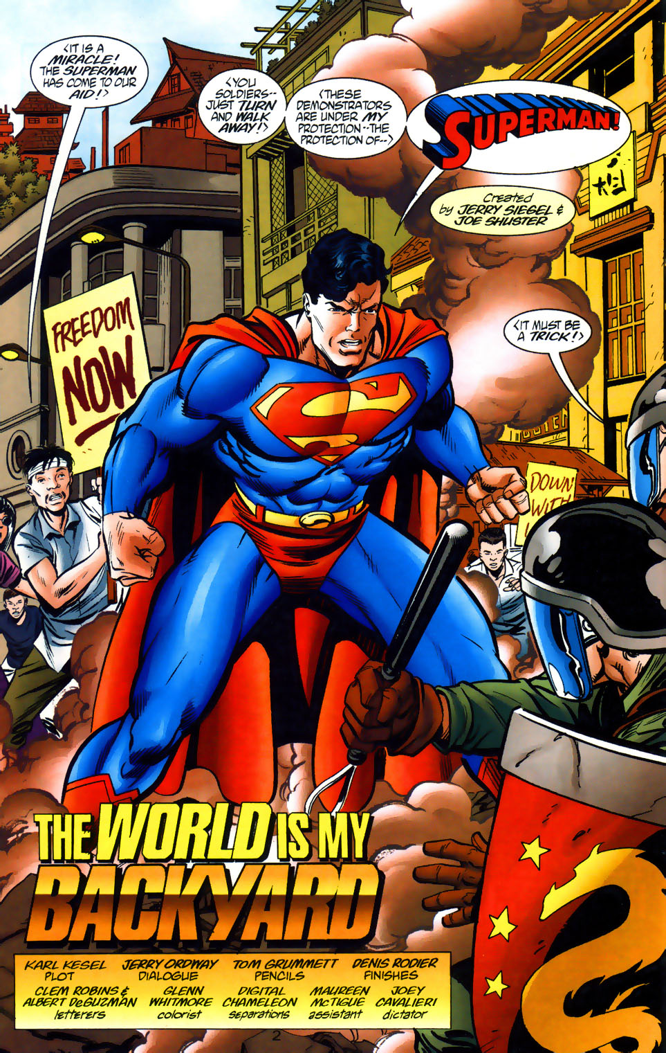 Read online Adventures of Superman (1987) comic -  Issue #565 - 3
