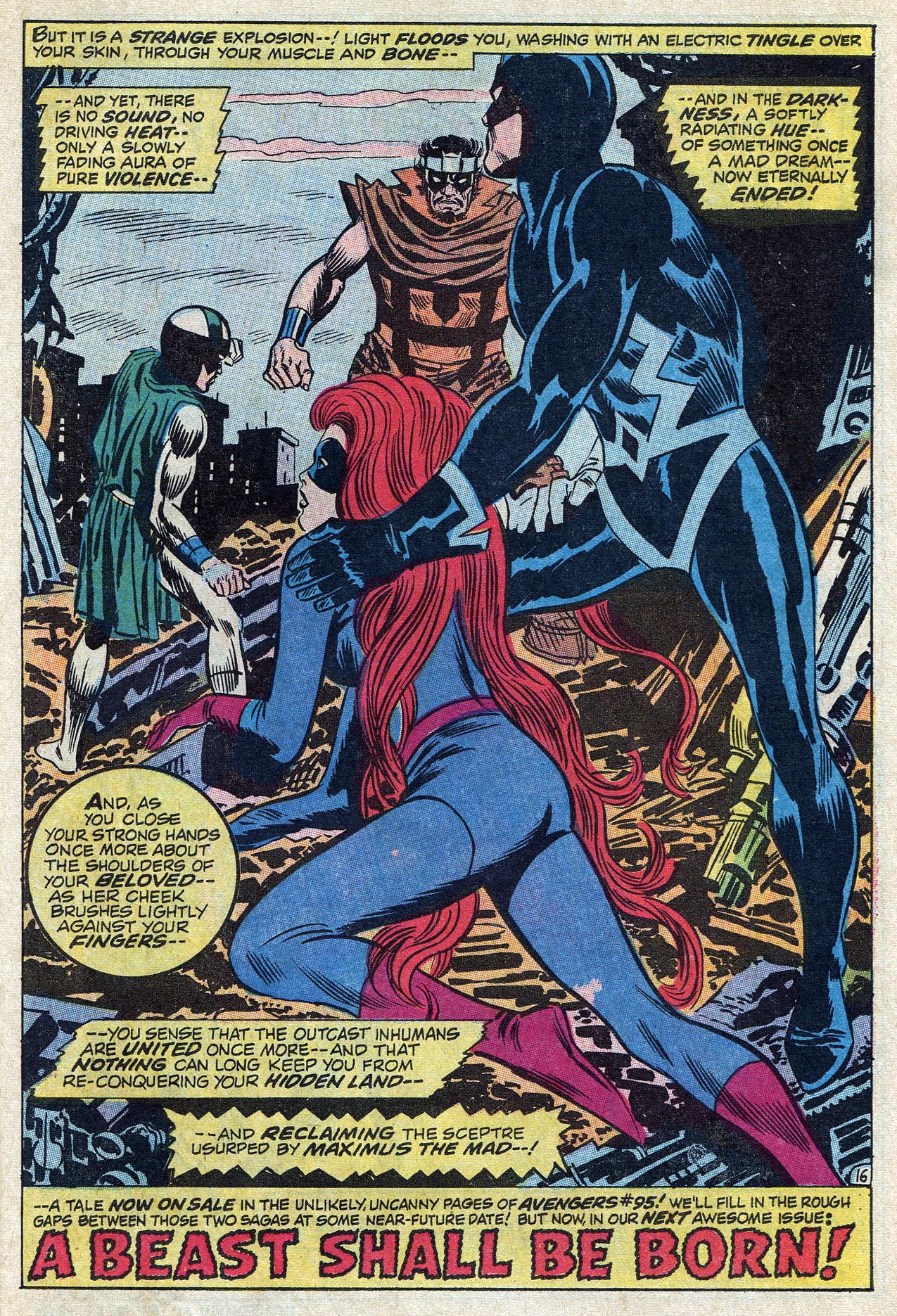 Read online Amazing Adventures (1970) comic -  Issue #10 - 23