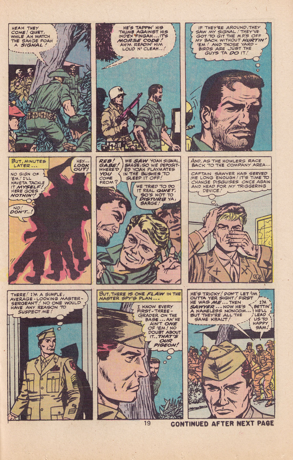 Read online Sgt. Fury comic -  Issue #127 - 21