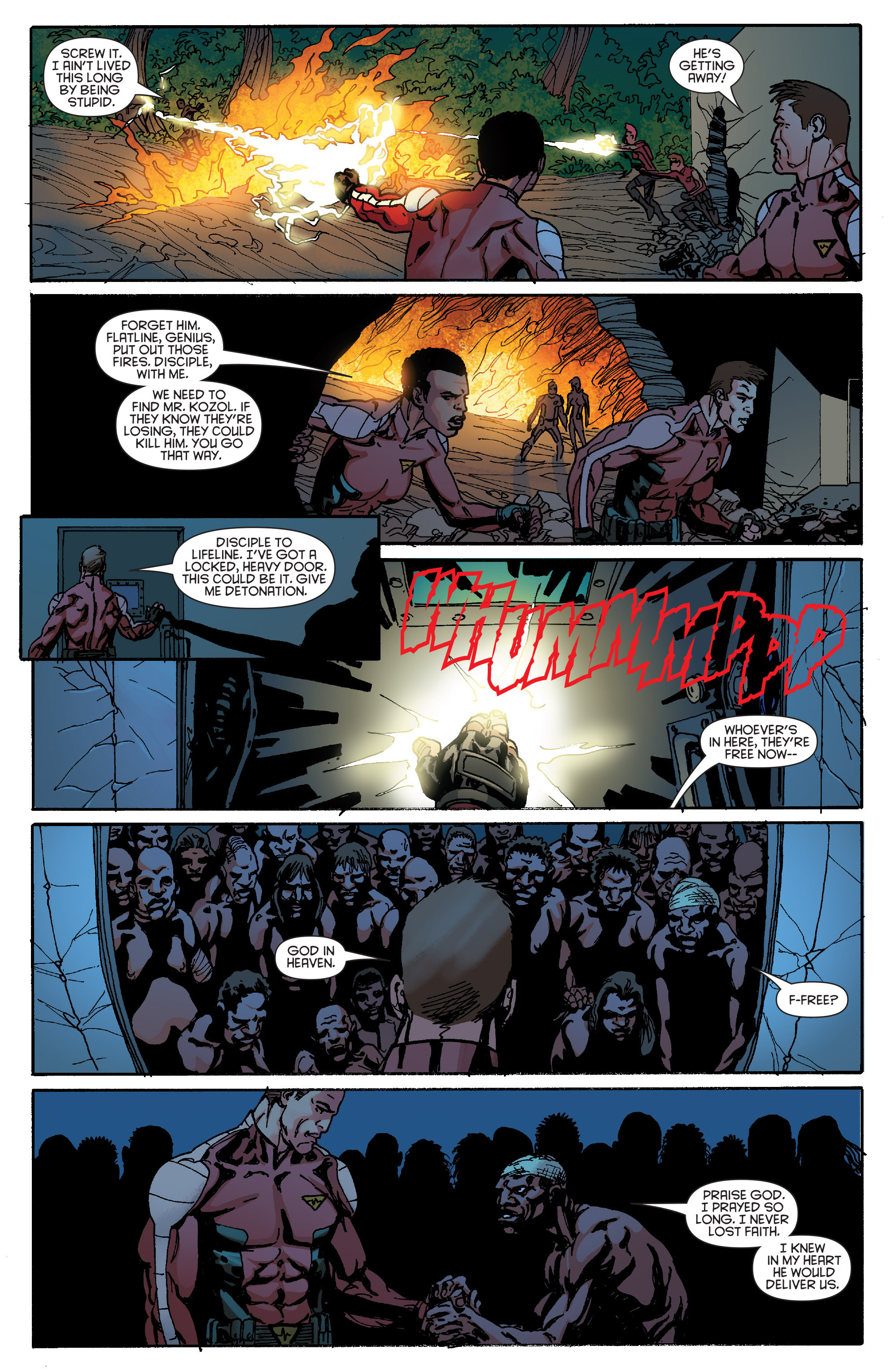Read online Bloodshot and H.A.R.D.Corps comic -  Issue #19 - 20