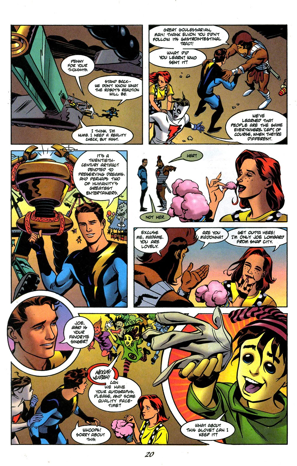 Read online Nexus Meets Madman comic -  Issue # Full - 22