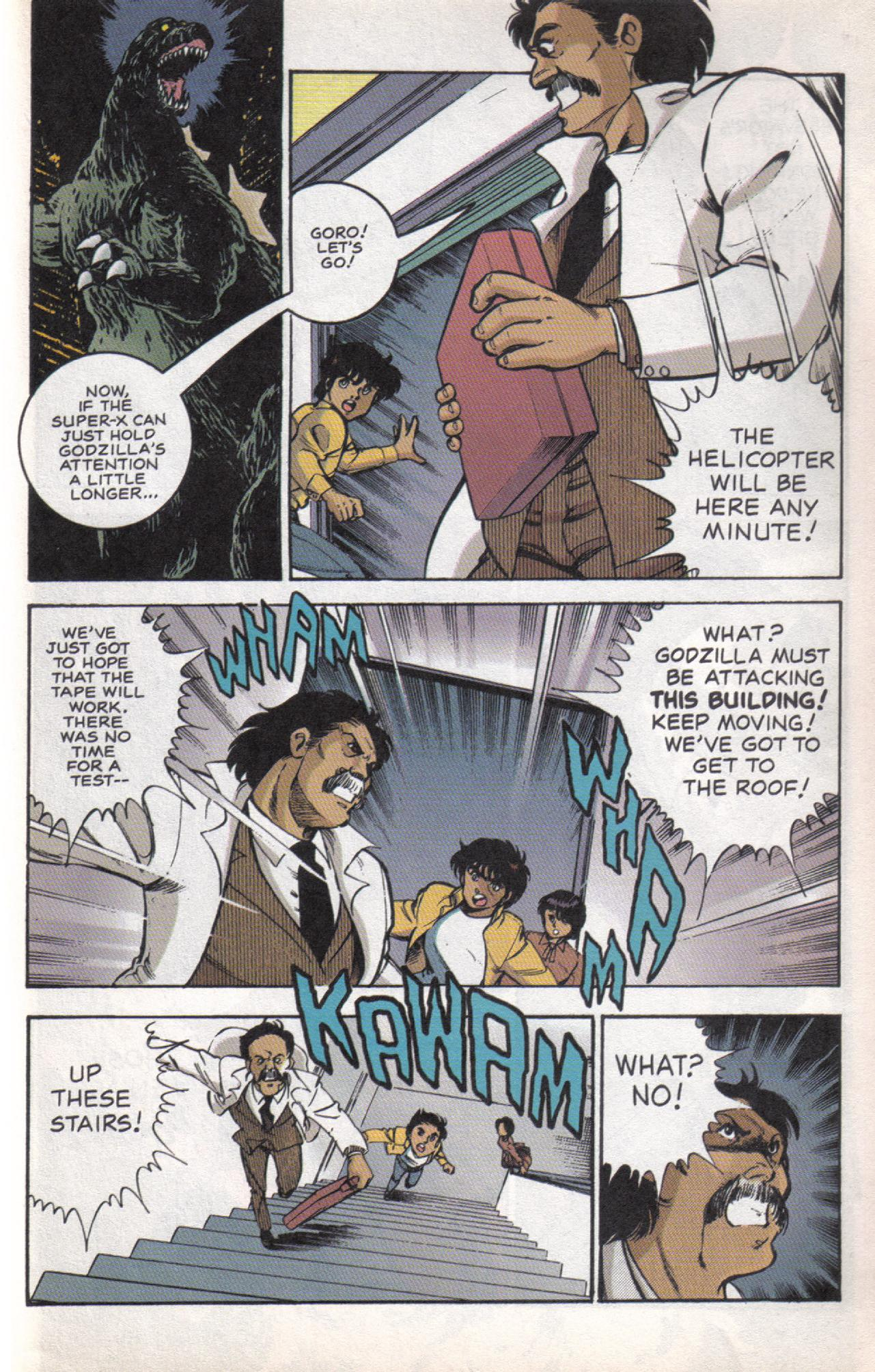 Read online Dark Horse Classics: Terror of Godzilla comic -  Issue #5 - 18