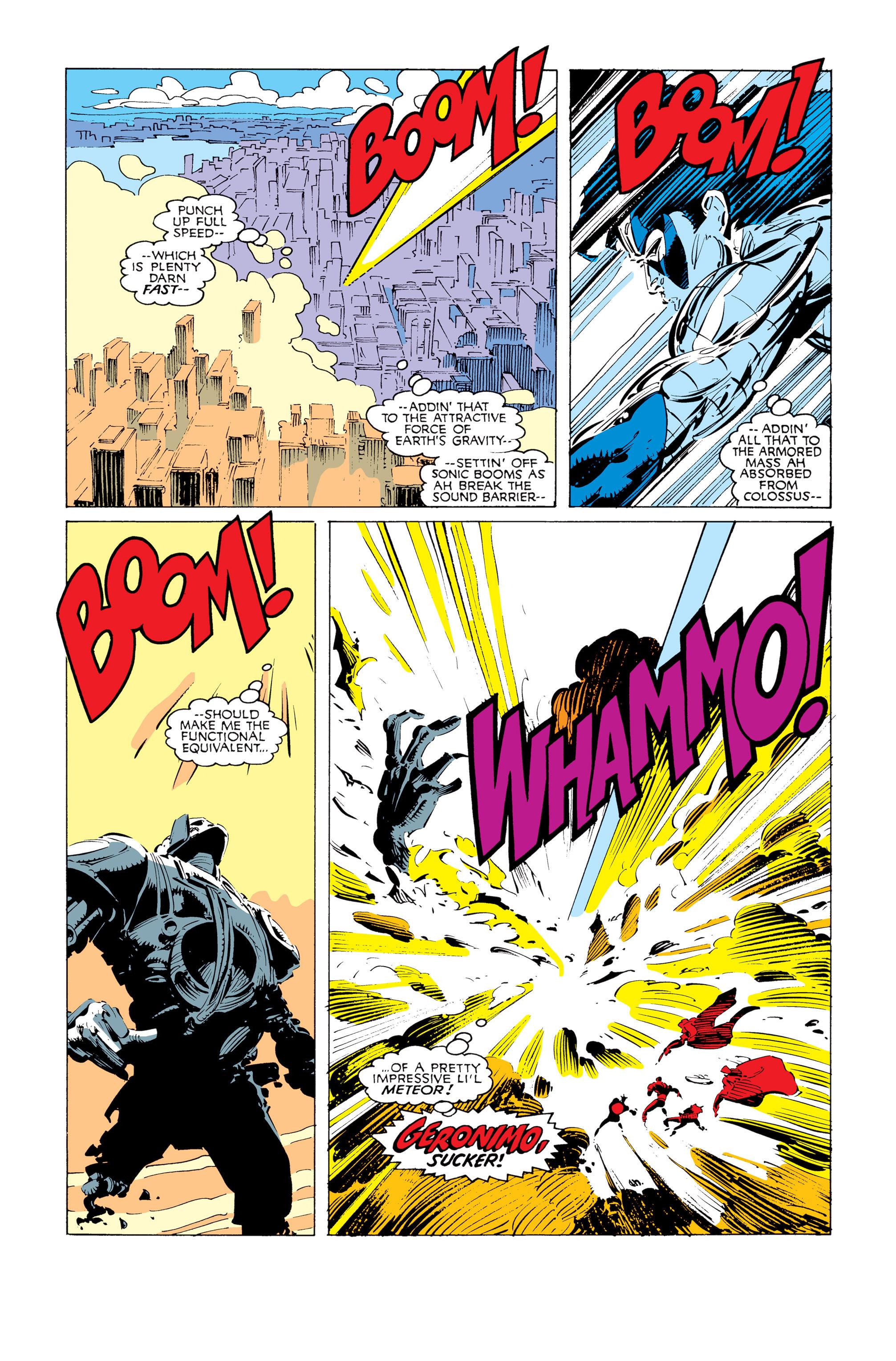 Read online Uncanny X-Men (1963) comic -  Issue #247 - 17