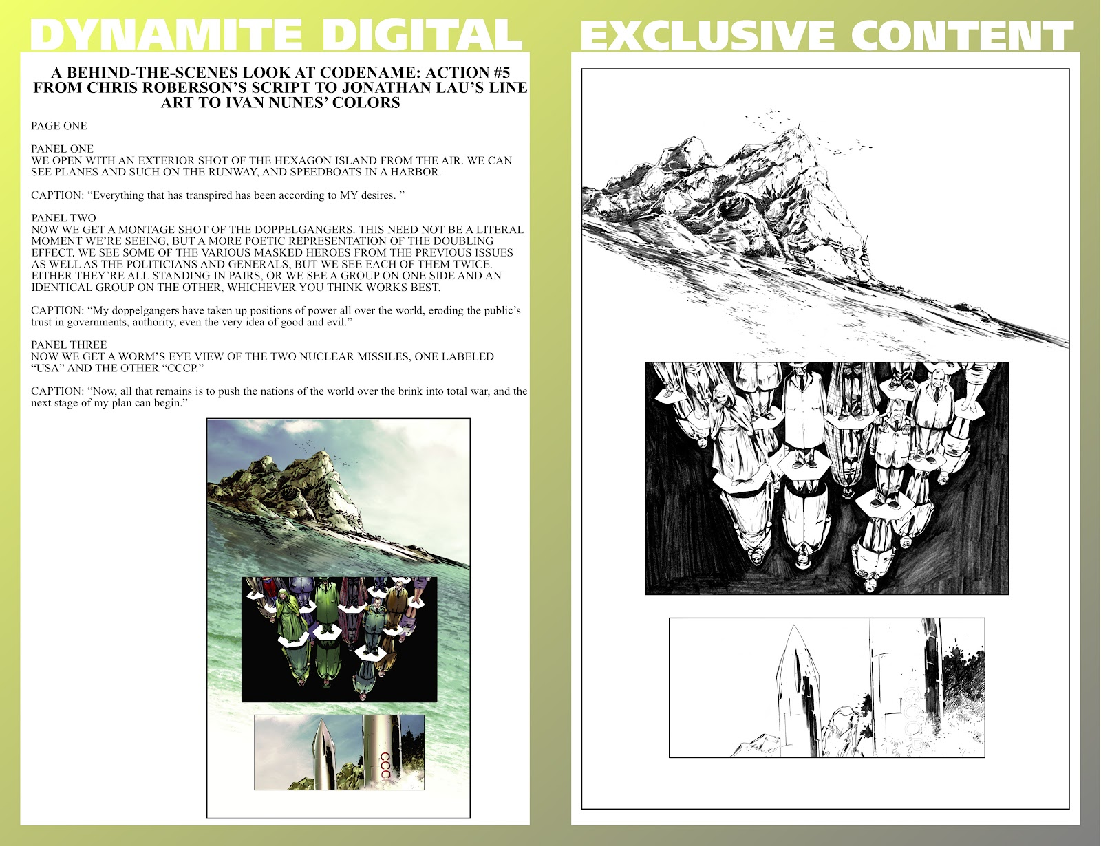 Read online Codename: Action comic -  Issue #5 - 28