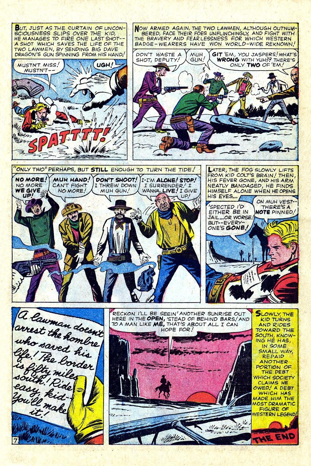 Gunsmoke Western issue 75 - Page 11