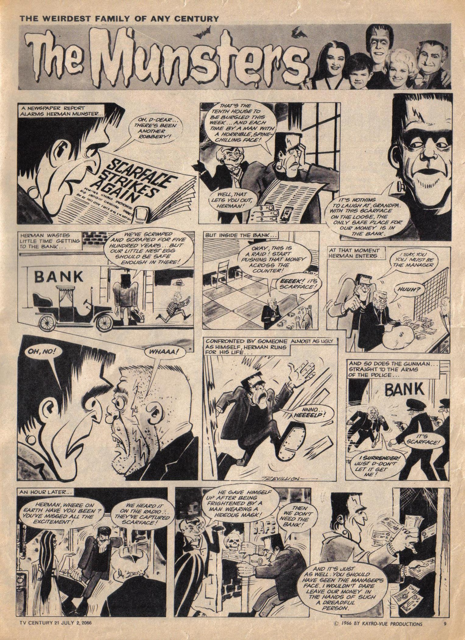 Read online TV Century 21 (TV 21) comic -  Issue #76 - 9