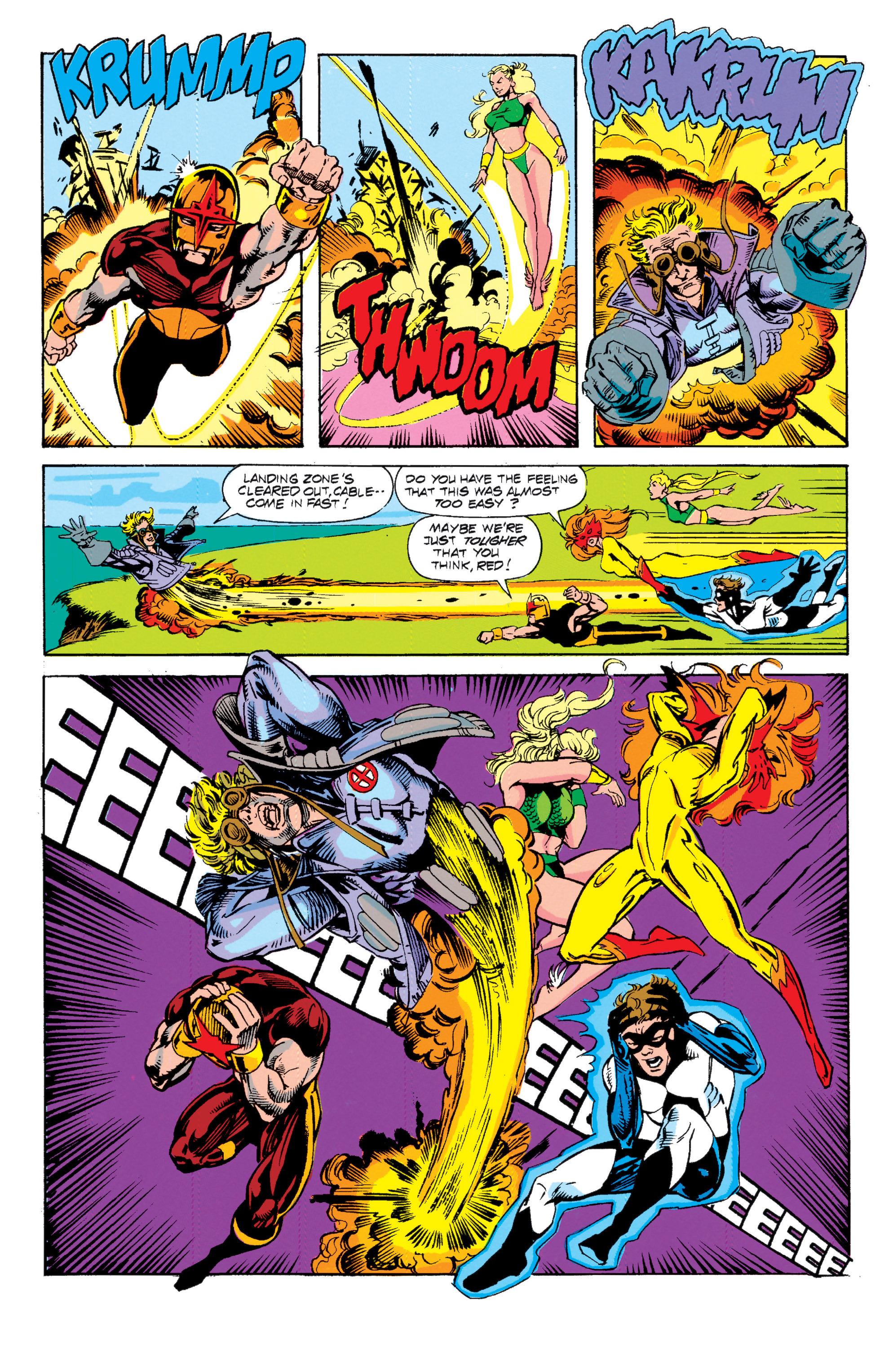 Read online Uncanny X-Men (1963) comic -  Issue # _Annual 15 - 6