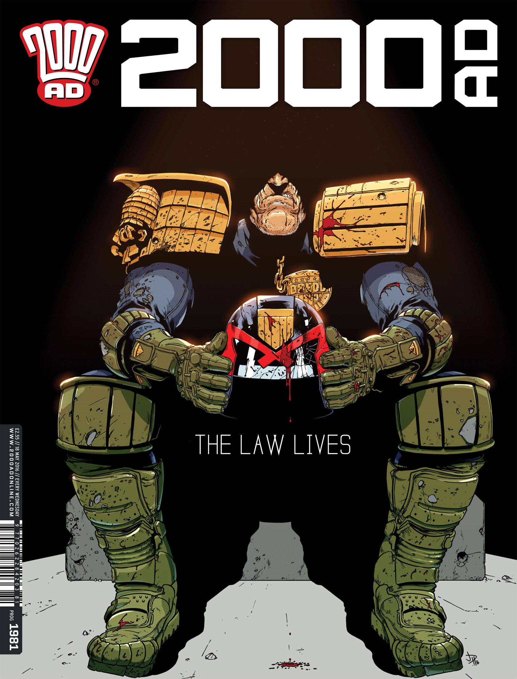 Read online 2000 AD comic -  Issue #1981 - 1