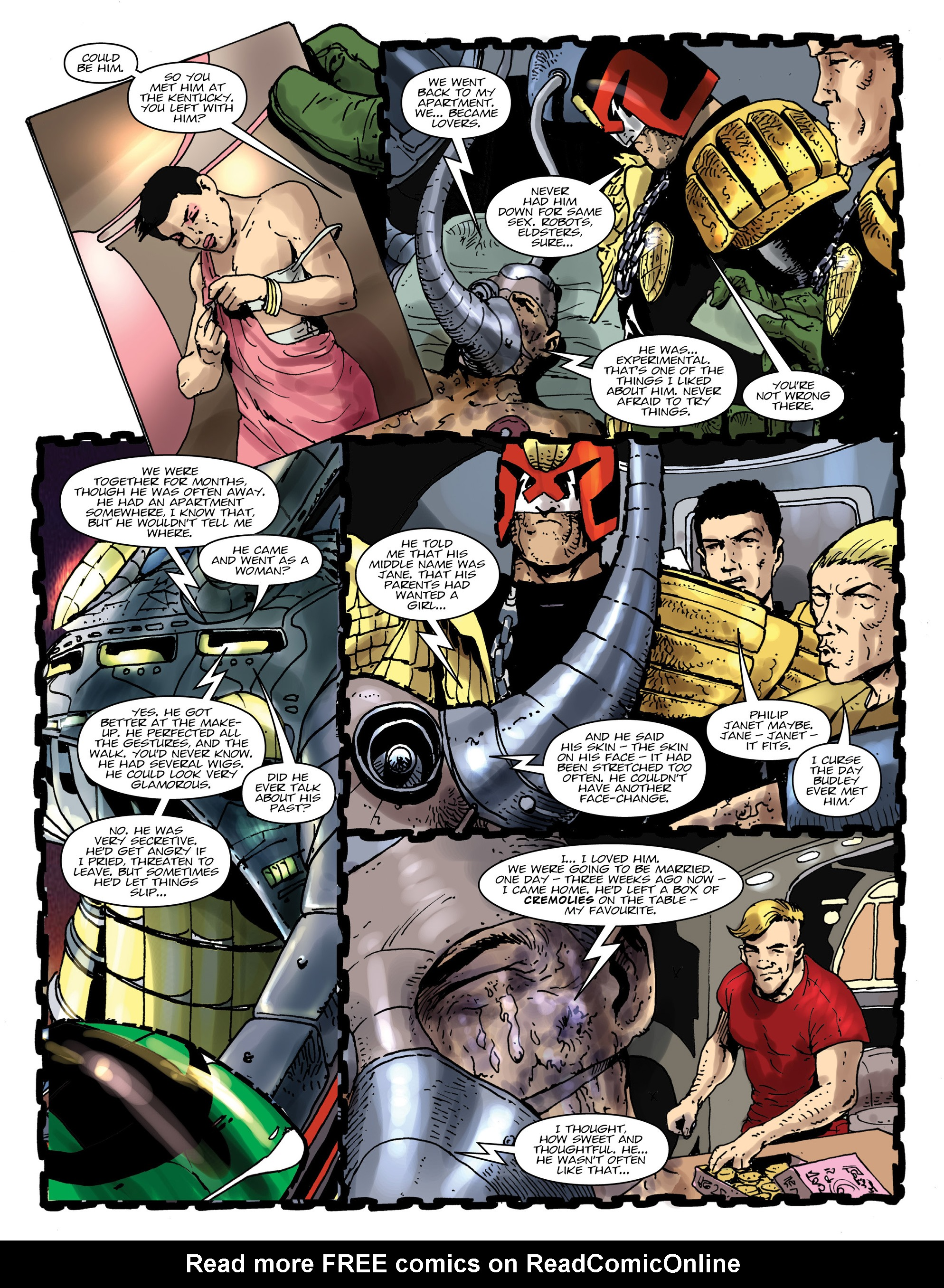Read online 2000 AD comic -  Issue #1992 - 4