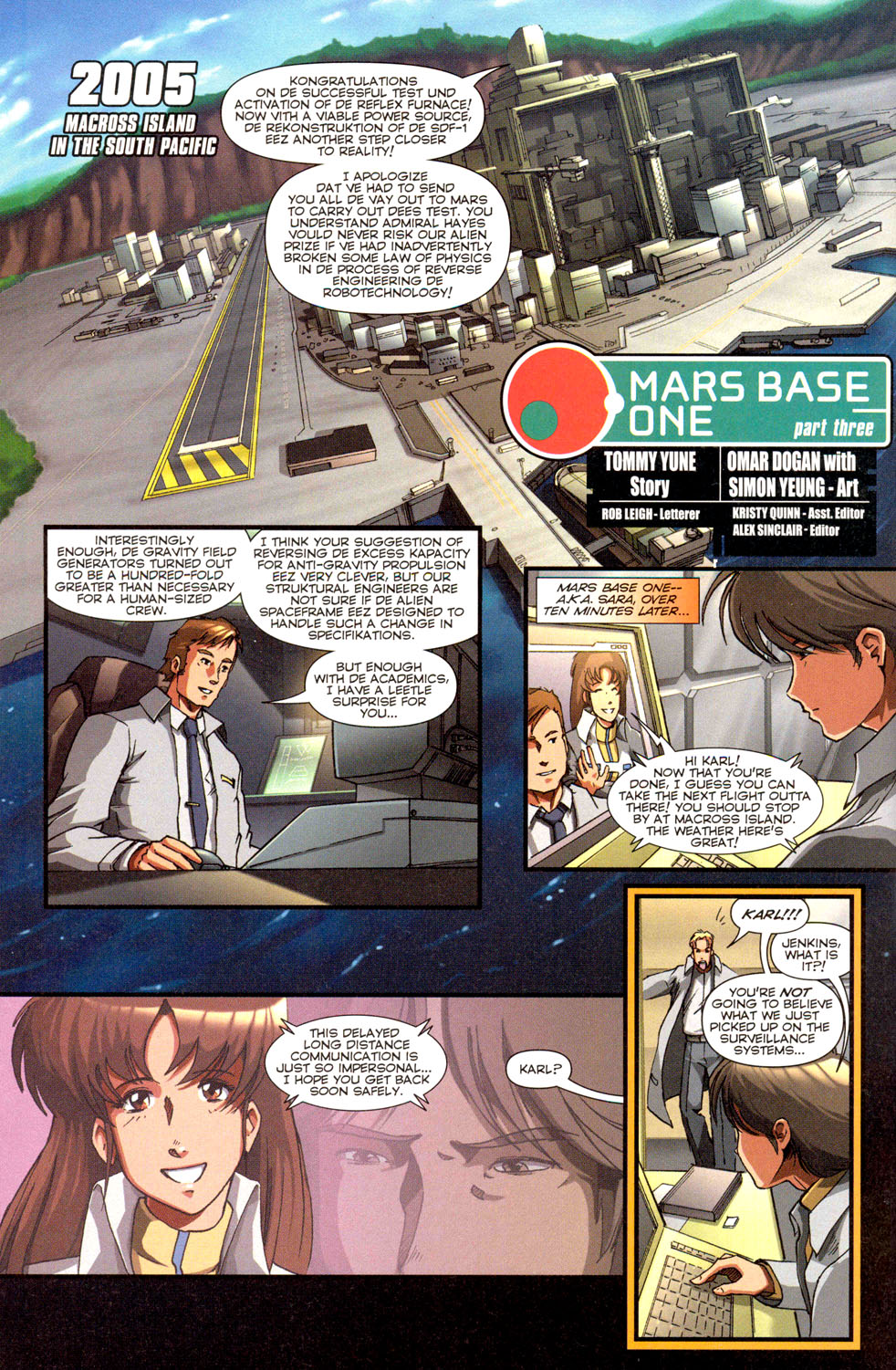 Read online Robotech: Invasion comic -  Issue #3 - 18