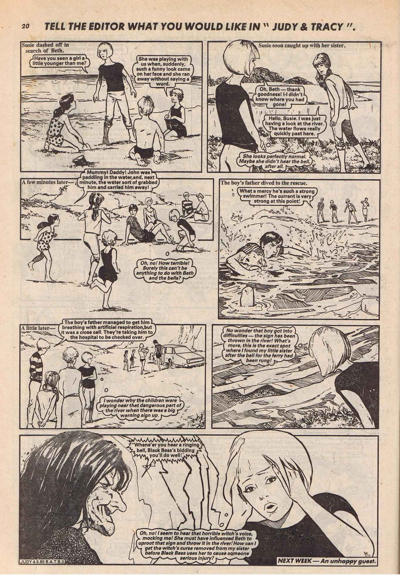 Read online Judy comic -  Issue #1321 - 20
