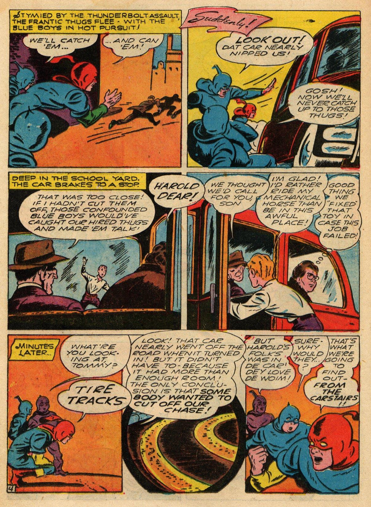 Read online Sensation (Mystery) Comics comic -  Issue #22 - 28