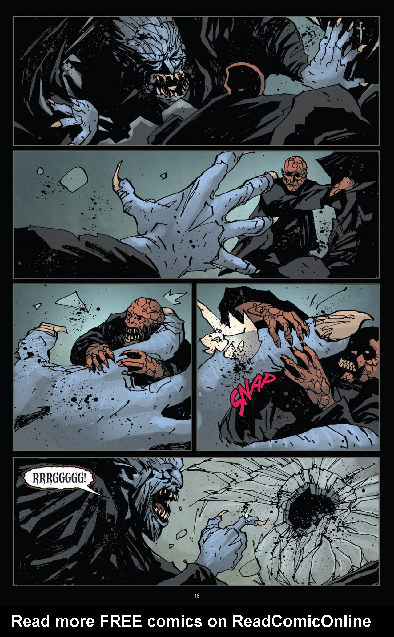 Read online 30 Days of Night (2011) comic -  Issue #12 - 17