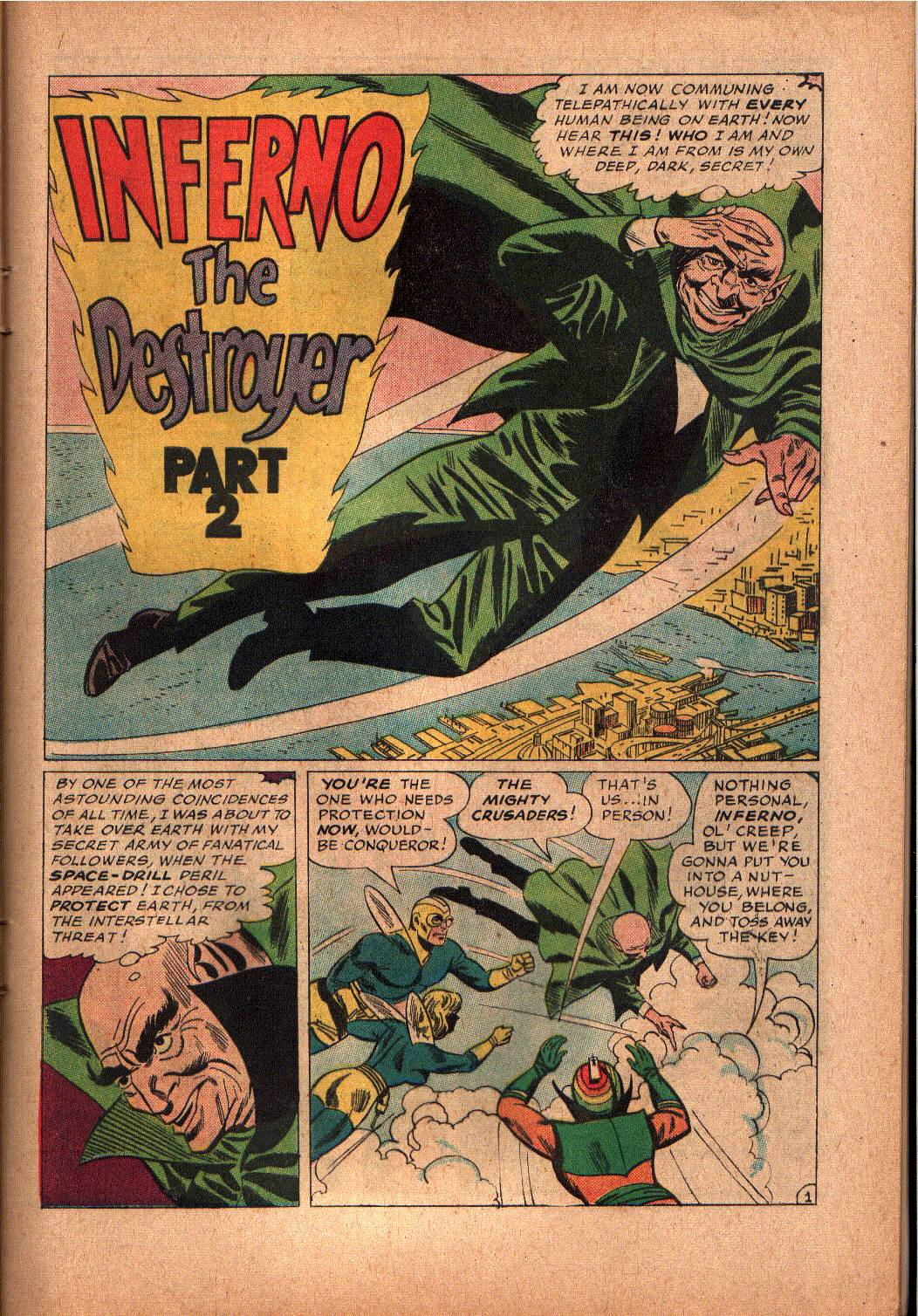 The Mighty Crusaders (1965) Issue #2 #2 - English 10