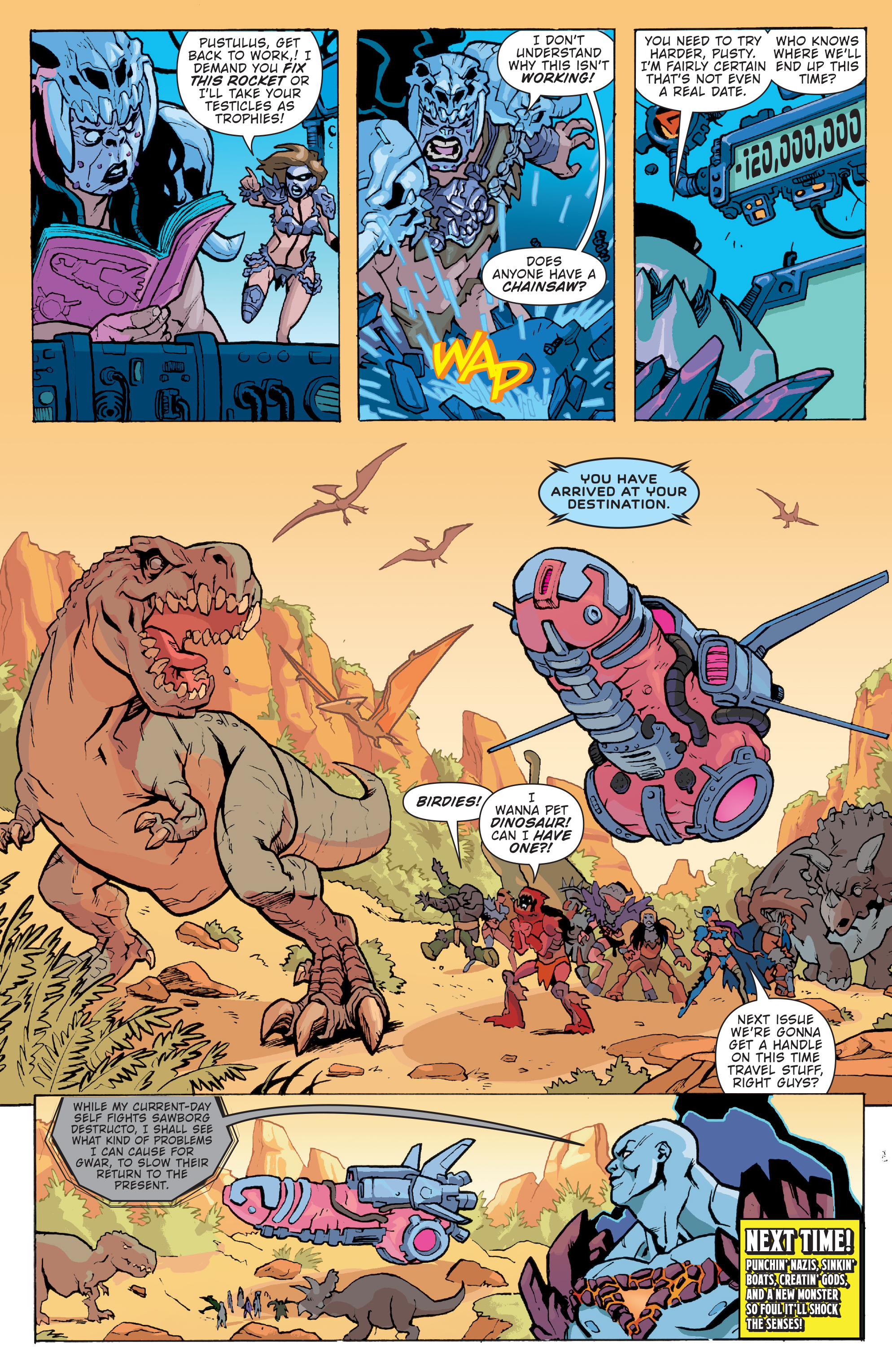 Read online Gwar: Orgasmageddon comic -  Issue #1 - 20