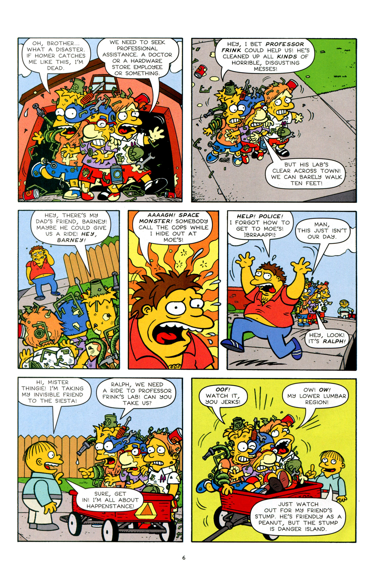 Read online Simpsons Comics Presents Bart Simpson comic -  Issue #63 - 8