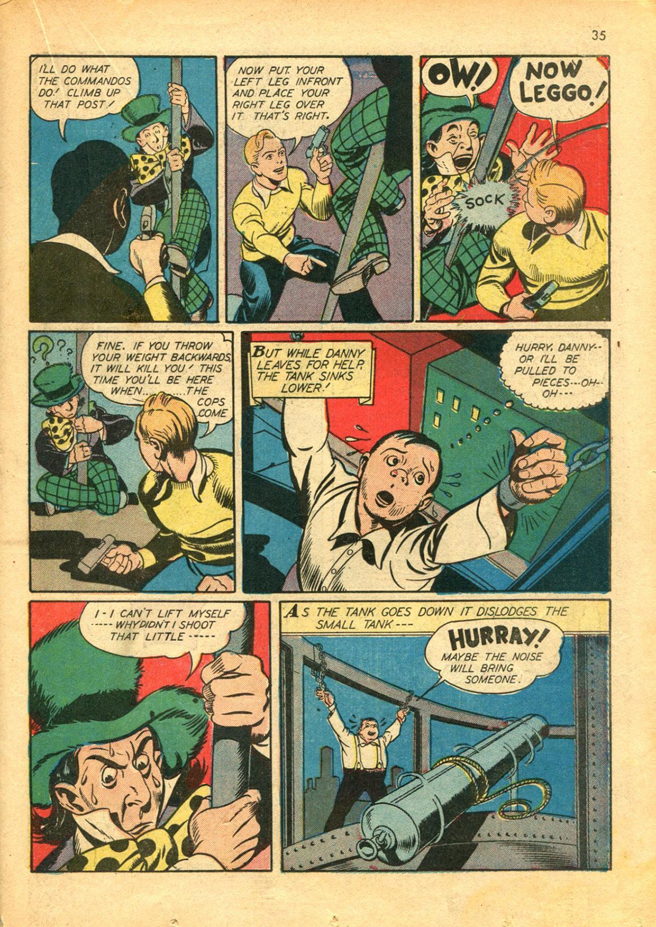 Read online Shadow Comics comic -  Issue #30 - 35