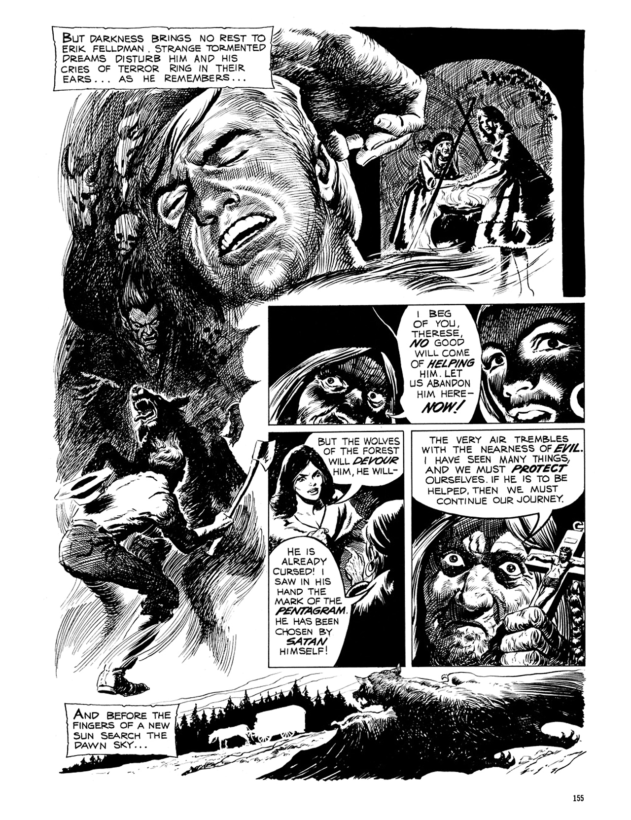 Read online Eerie Archives comic -  Issue # TPB 6 - 155