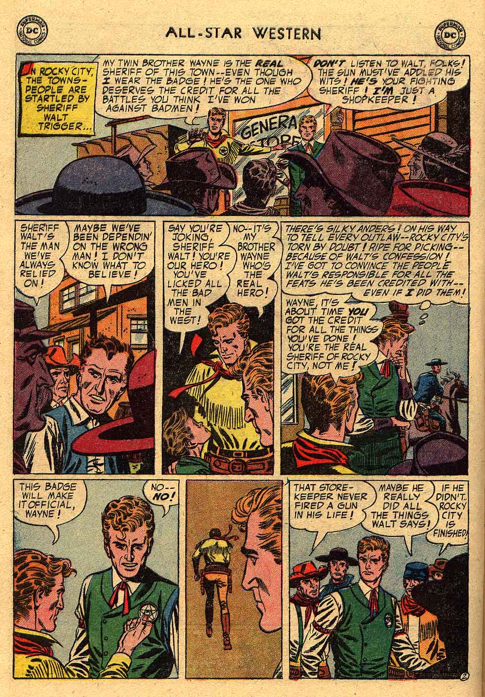 Read online All-Star Western (1951) comic -  Issue #80 - 4