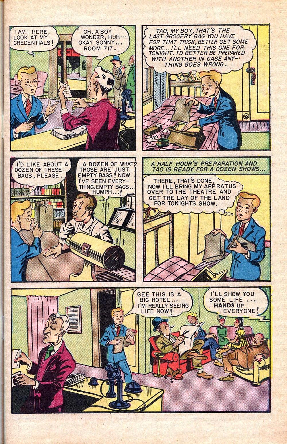 Read online Super-Magician Comics comic -  Issue #55 - 19