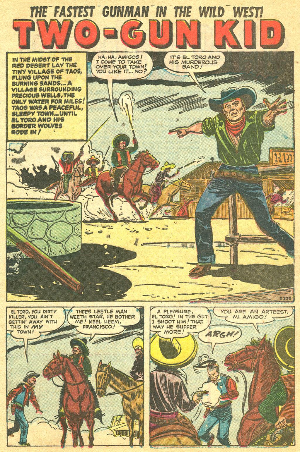 Read online Two-Gun Kid comic -  Issue #11 - 12