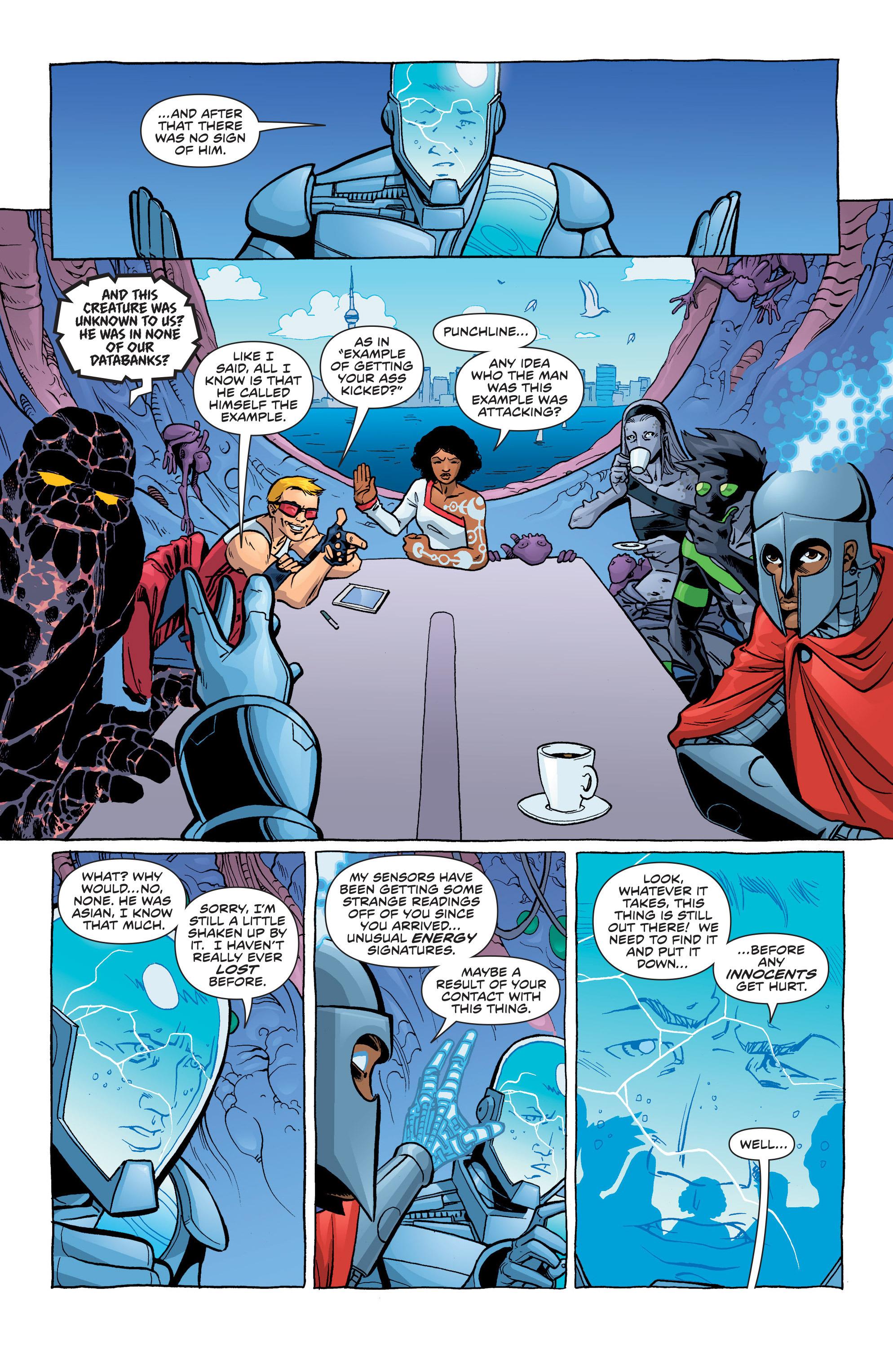 Read online Secret Identities comic -  Issue #3 - 8