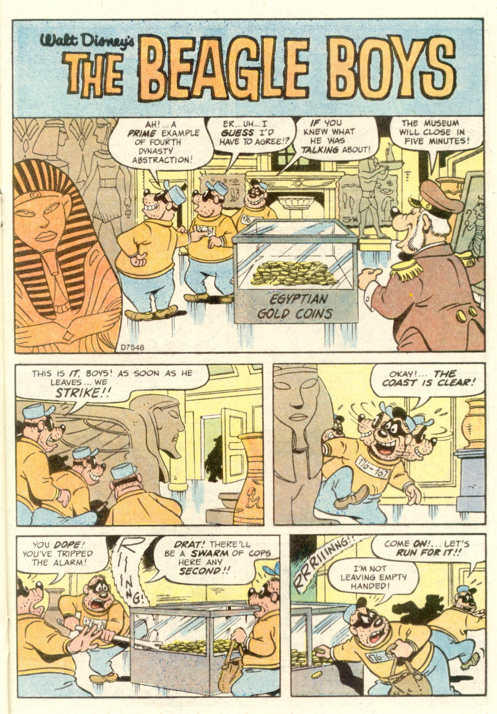 Read online Uncle Scrooge (1953) comic -  Issue #210 - 21