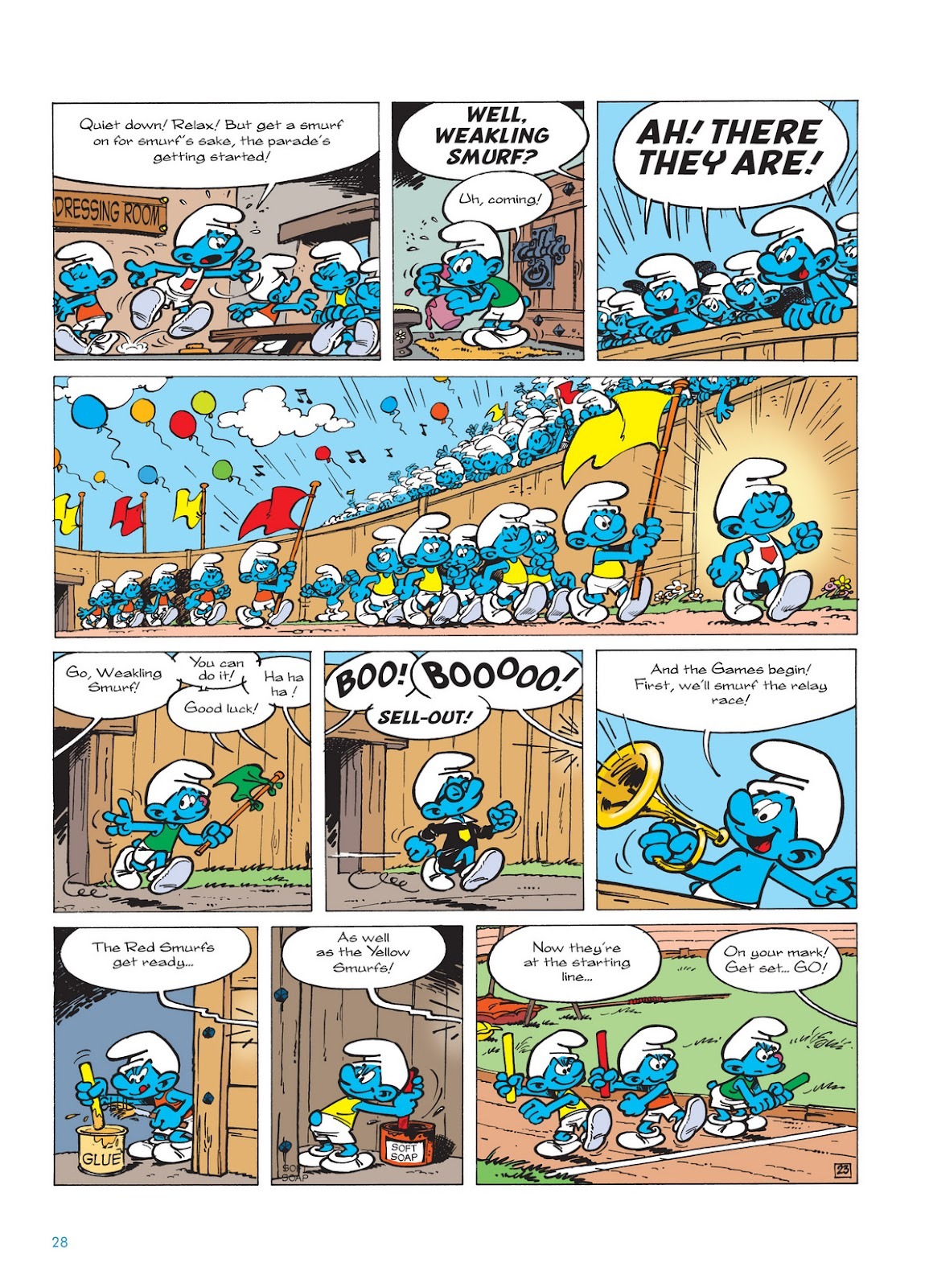 Read online The Smurfs comic -  Issue #11 - 28