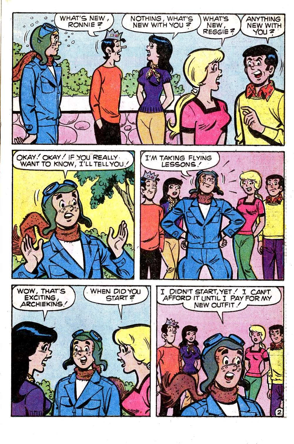 Read online Archie (1960) comic -  Issue #259 - 21