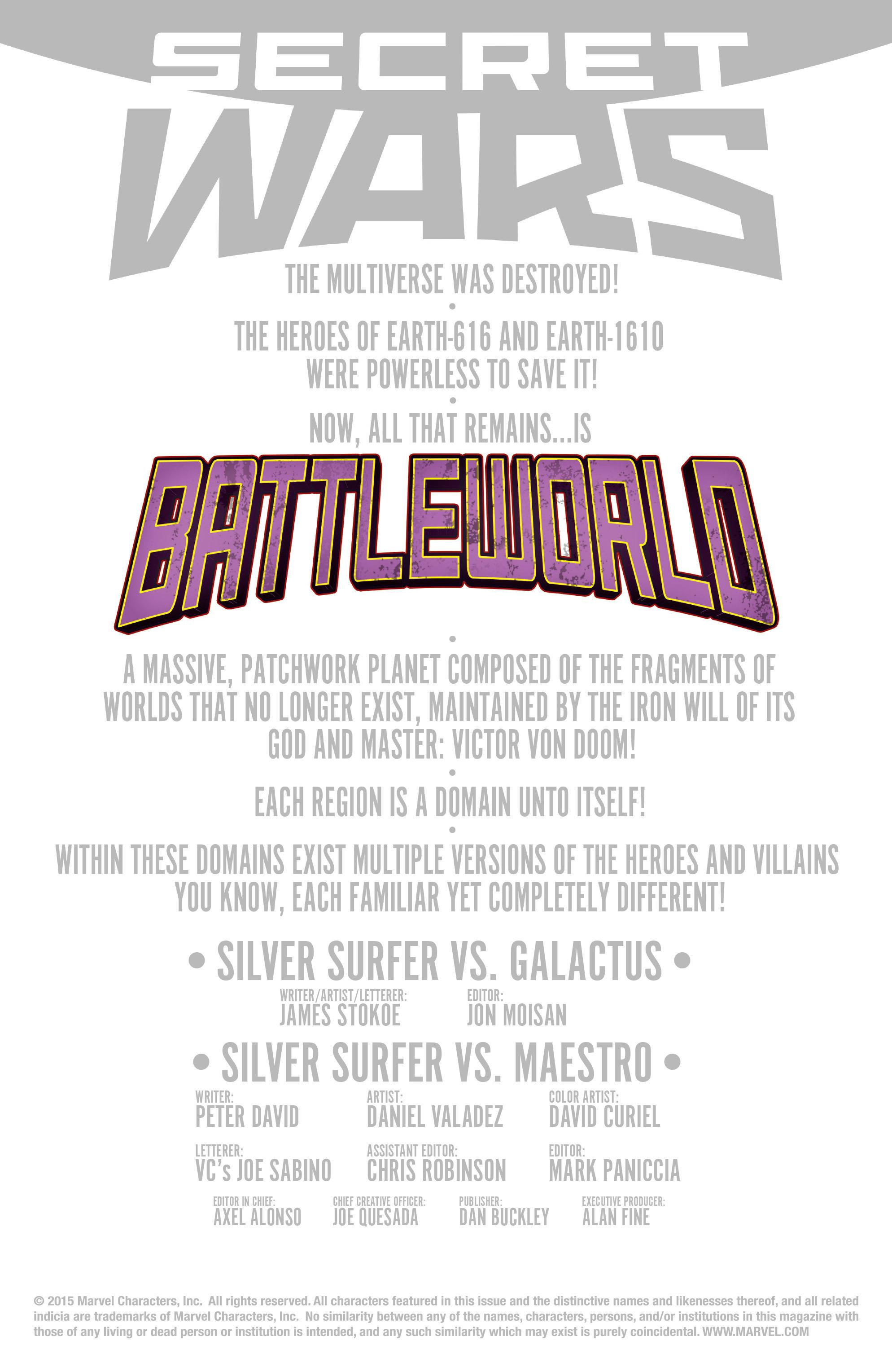 Read online Secret Wars: Battleworld comic -  Issue #4 - 2