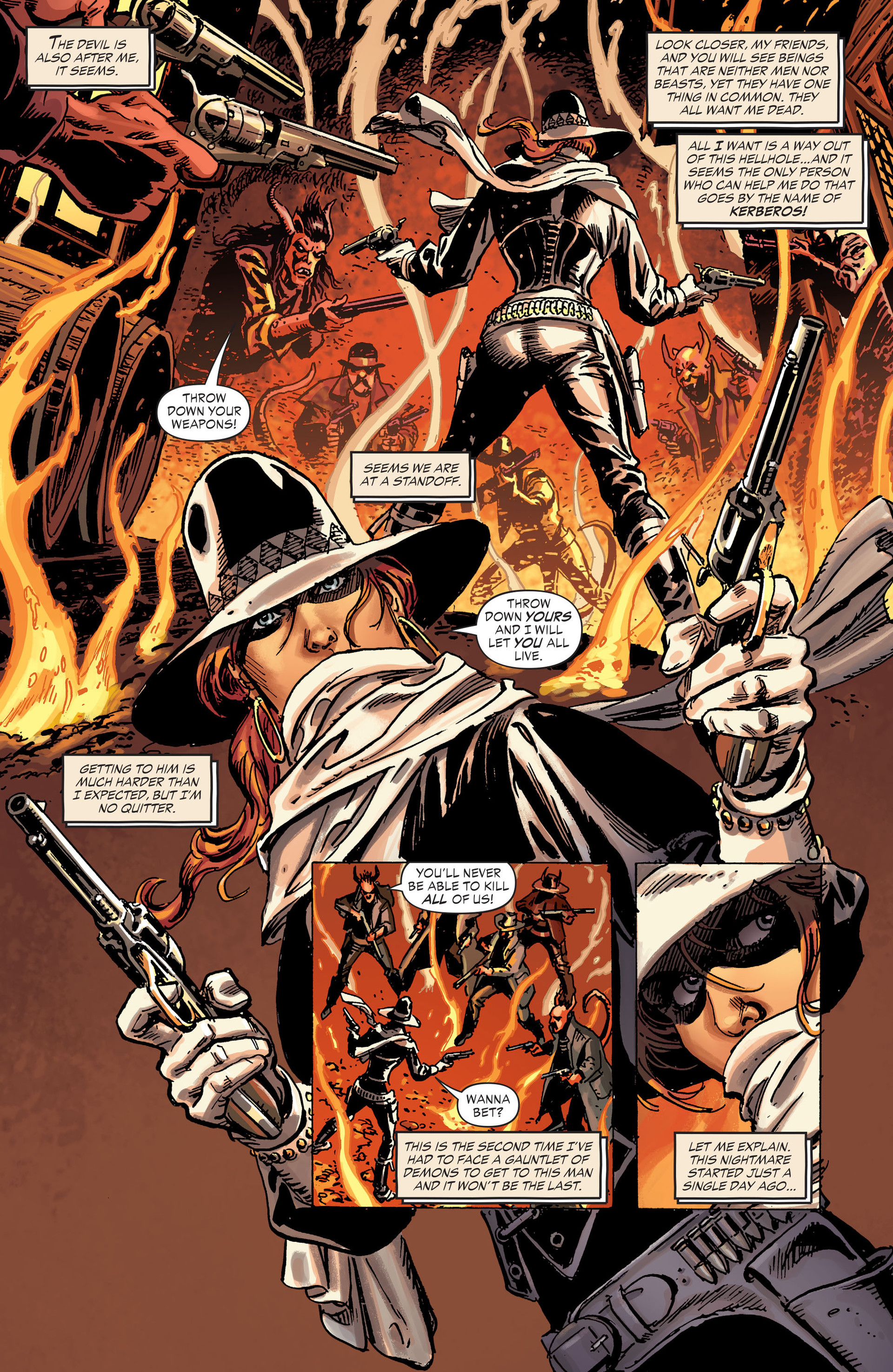 Read online All-Star Western (2011) comic -  Issue #30 - 15
