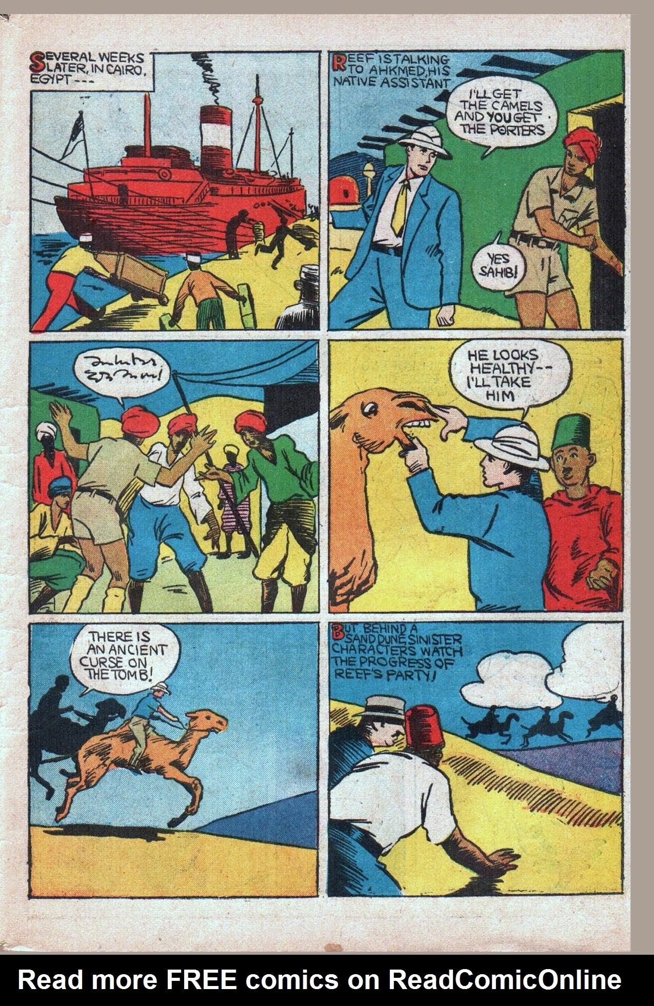 Read online Amazing Man Comics comic -  Issue #20 - 52