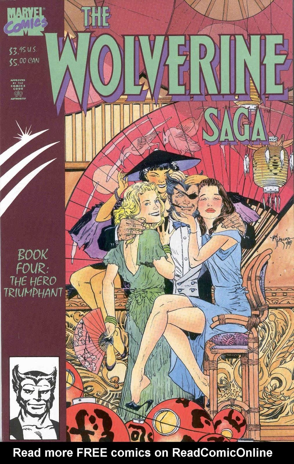 Wolverine Saga (1989) 4 Page 1