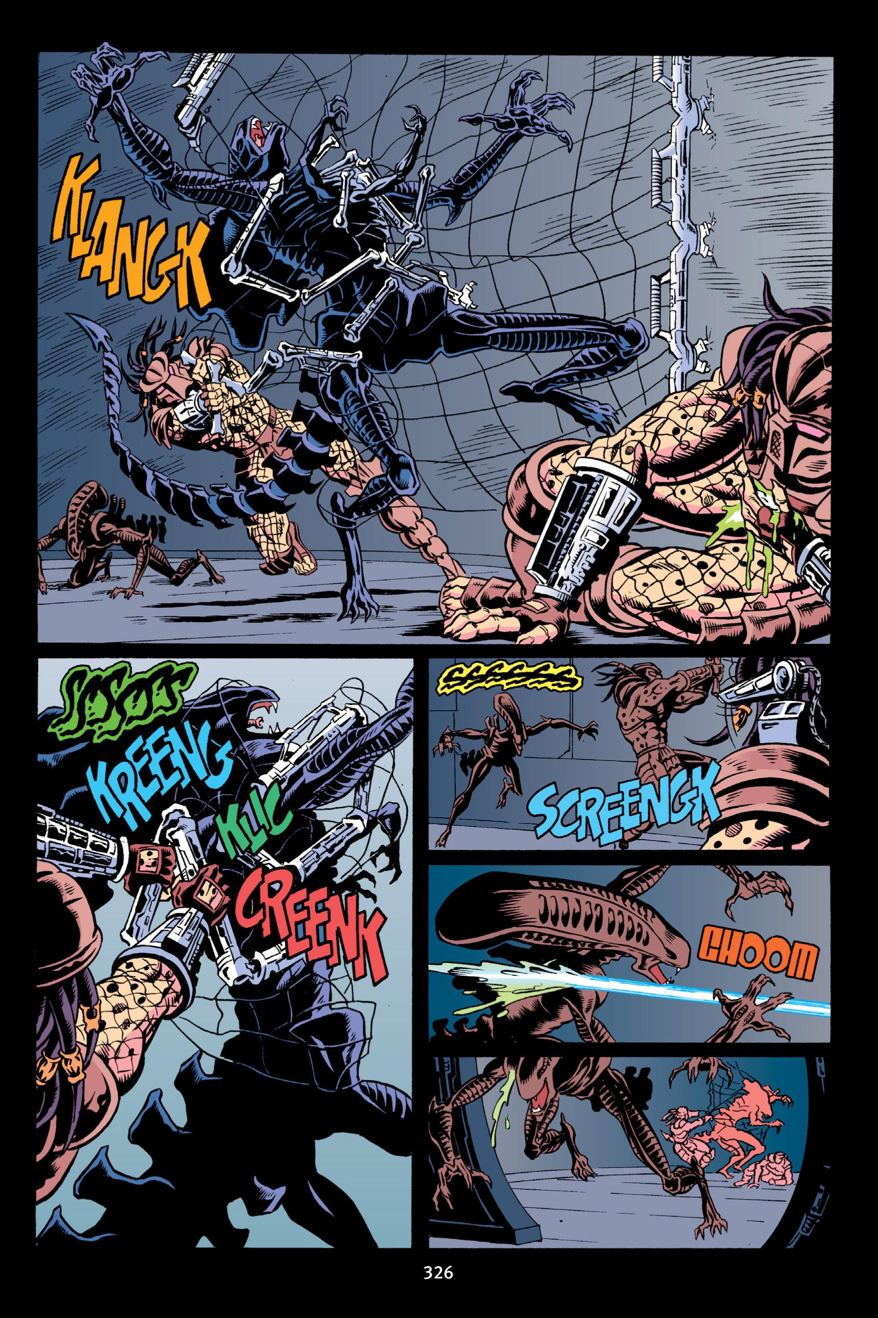 Read online Aliens vs. Predator Omnibus comic -  Issue # _TPB 2 Part 3 - 101