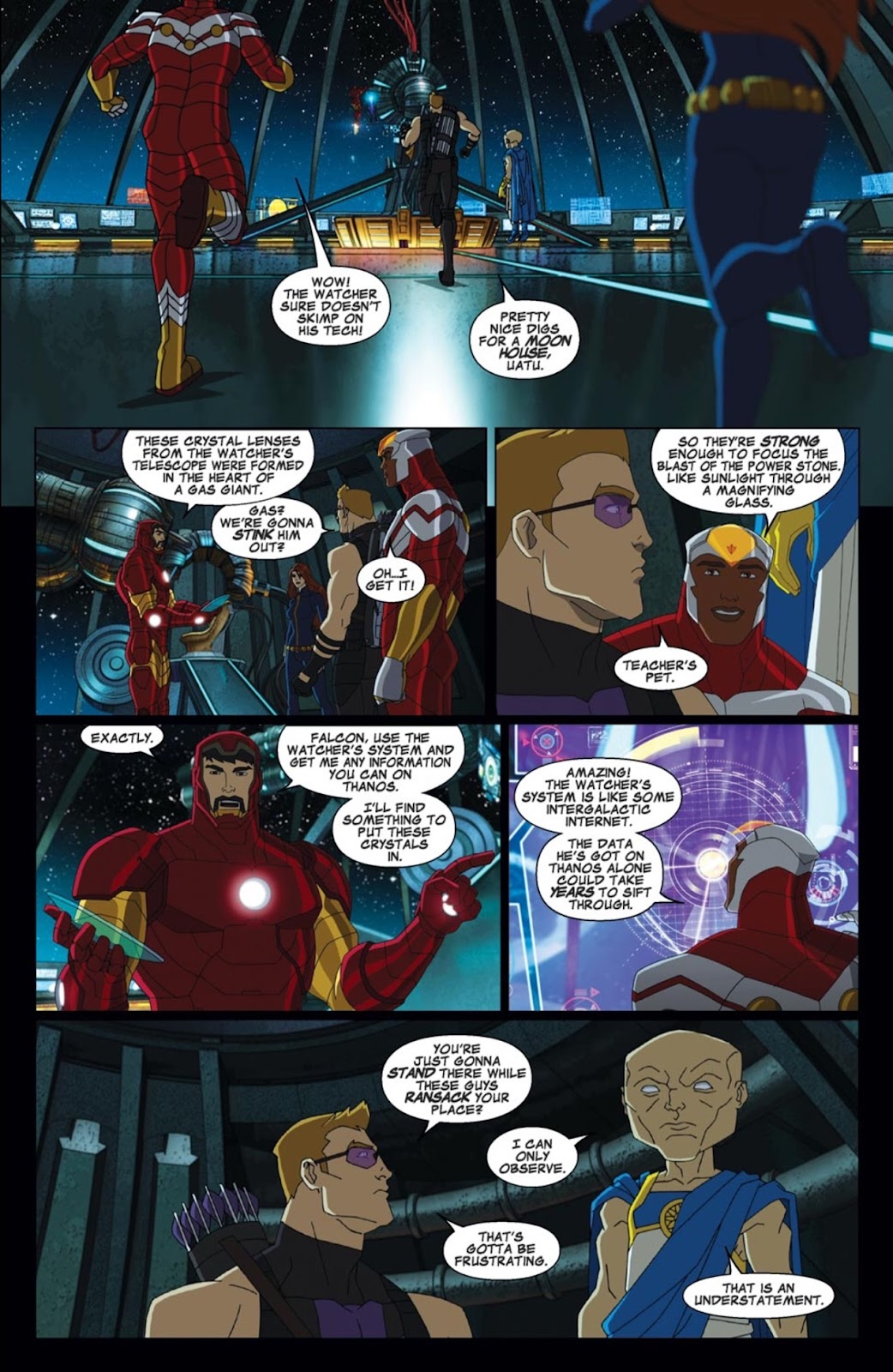 Read online Marvel Universe Avengers Assemble Season 2 comic -  Issue #2 - 15