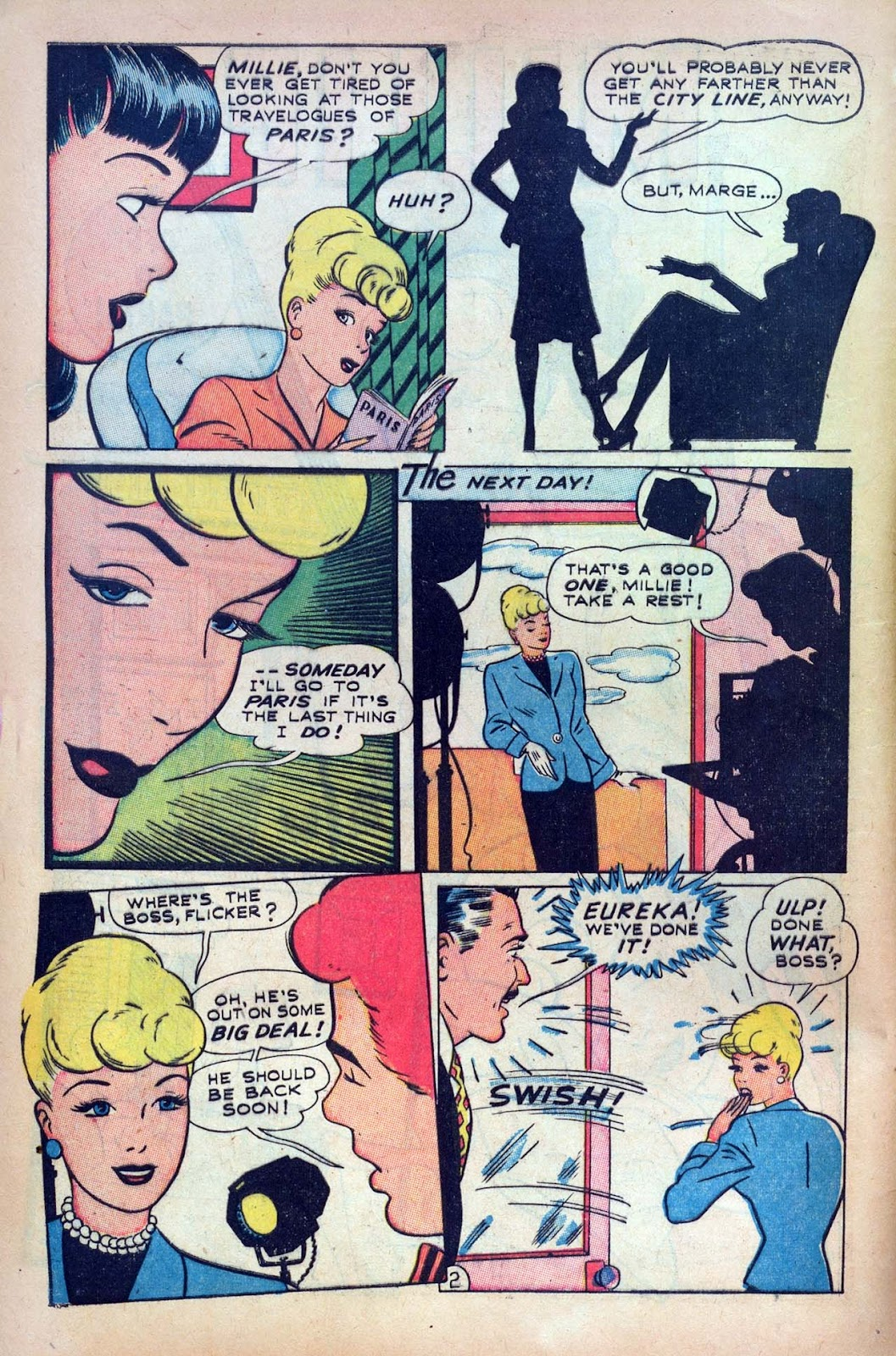 Read online Millie the Model comic -  Issue #9 - 4