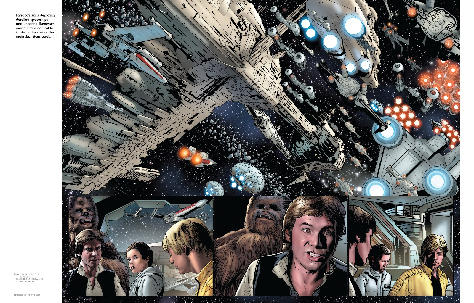 Read online The Marvel Art of Star Wars comic -  Issue # TPB (Part 2) - 9