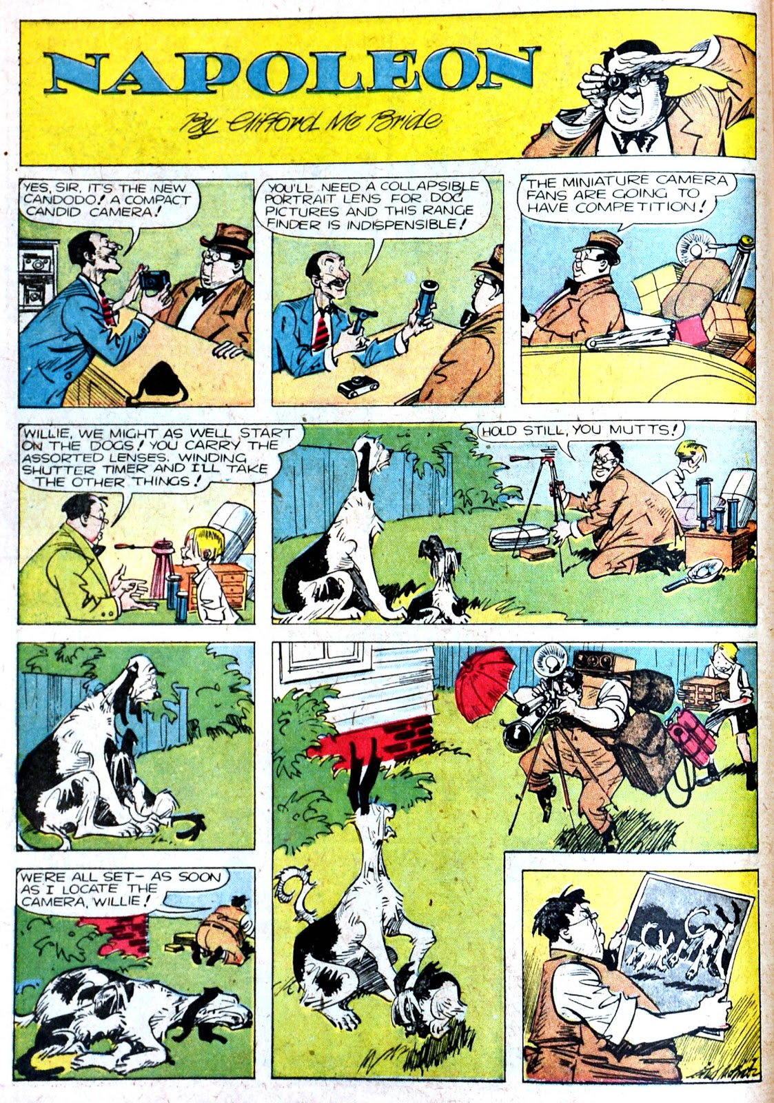 Read online Famous Funnies comic -  Issue #87 - 16