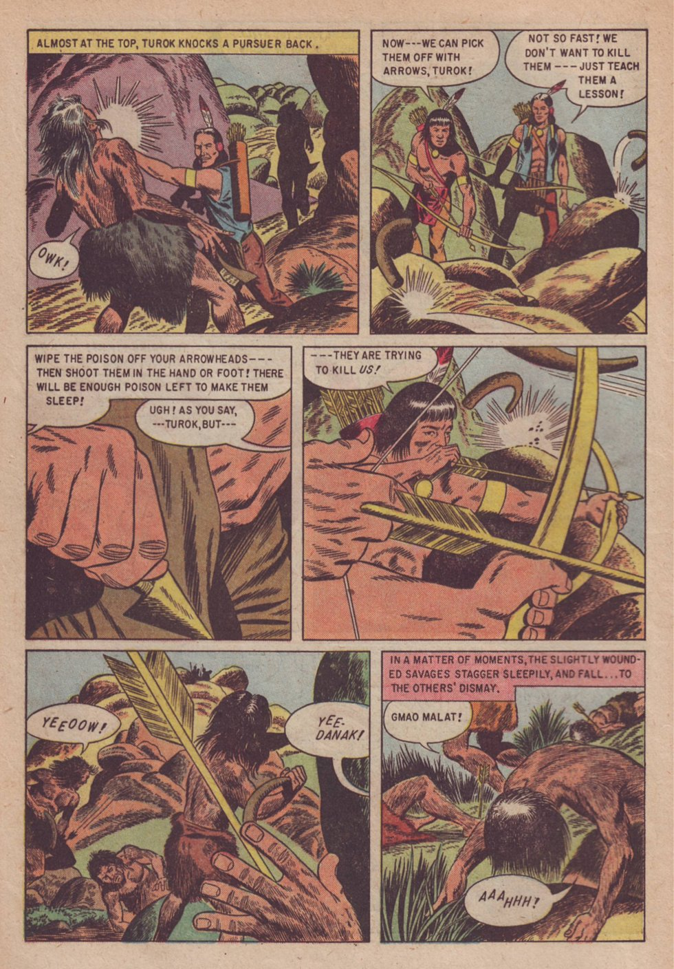 Read online Turok, Son of Stone comic -  Issue #3 - 16