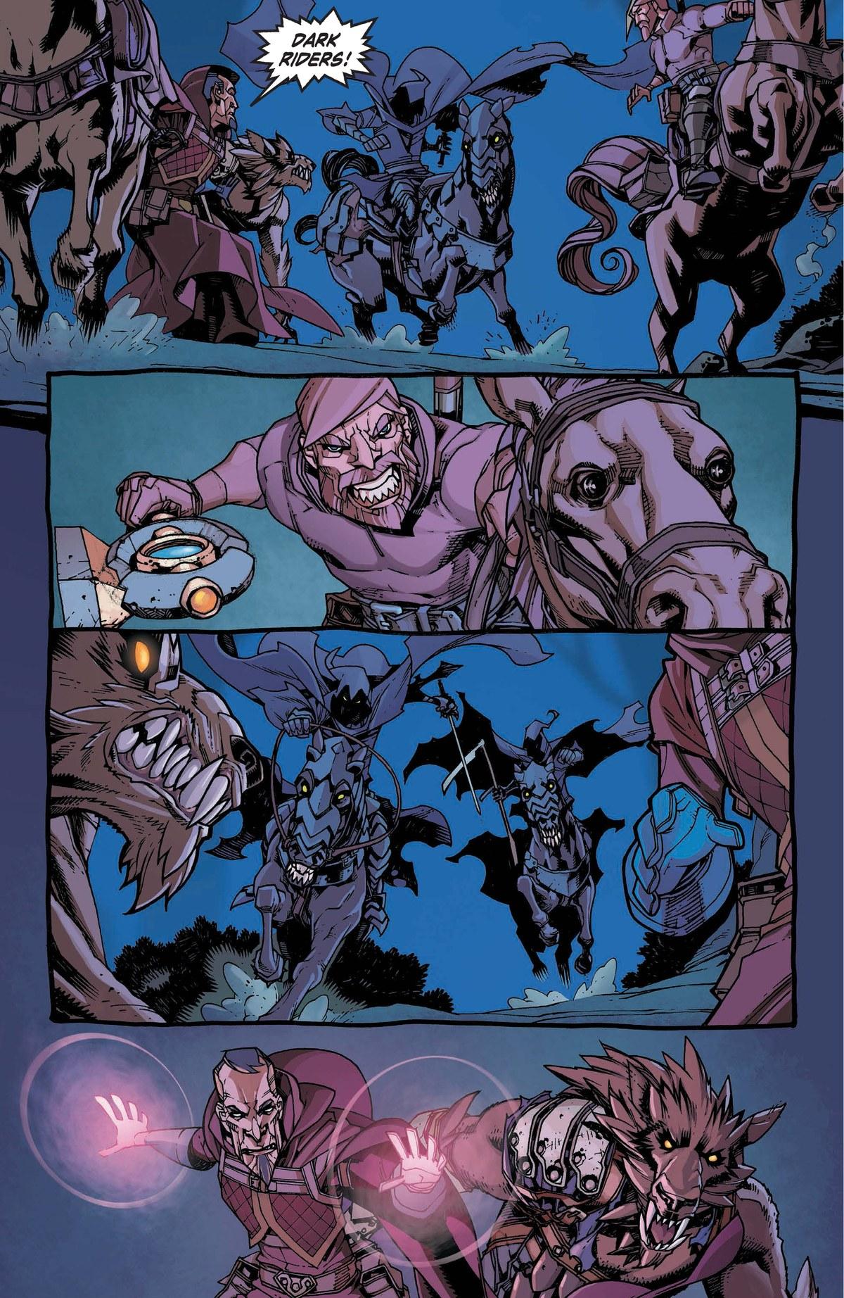 Read online World of Warcraft: Dark Riders comic -  Issue # Full - 96