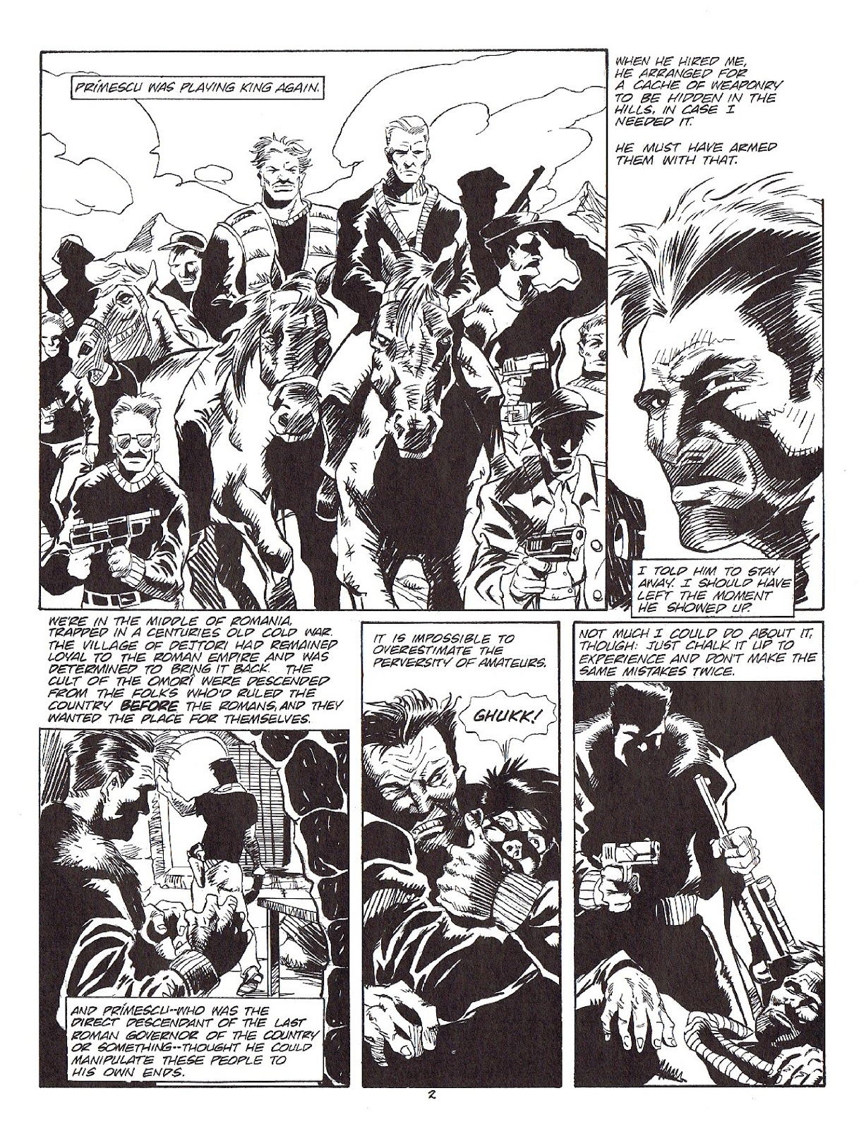 Read online Merchants of Death comic -  Issue #4 - 32