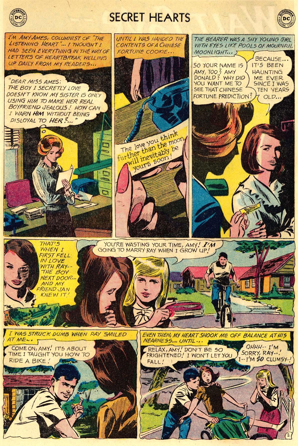 Read online Secret Hearts comic -  Issue #106 - 4