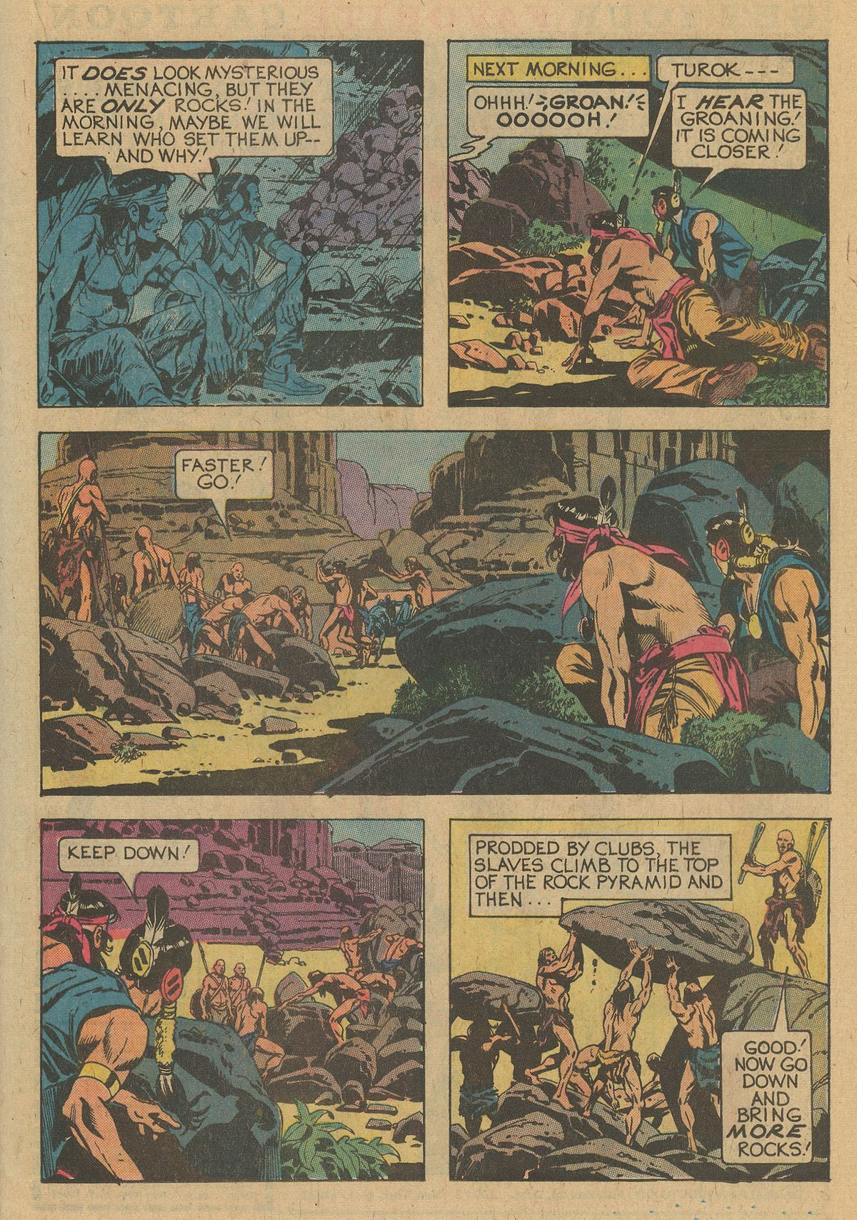 Read online Turok, Son of Stone comic -  Issue #109 - 21