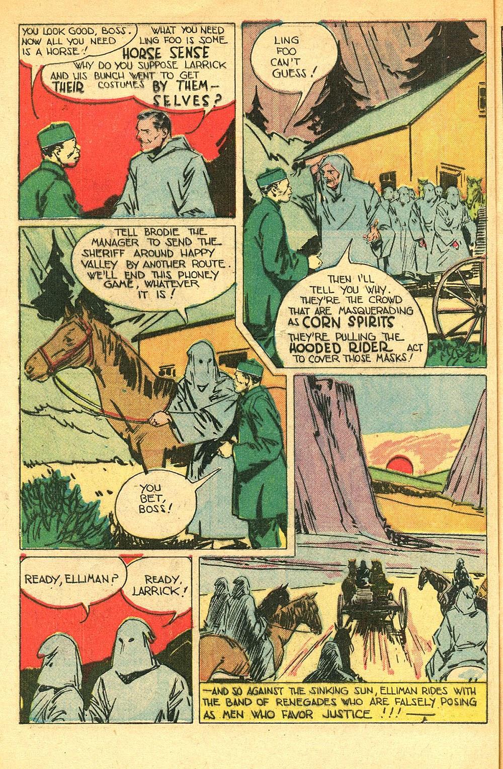 Read online Super-Magician Comics comic -  Issue #56 - 42
