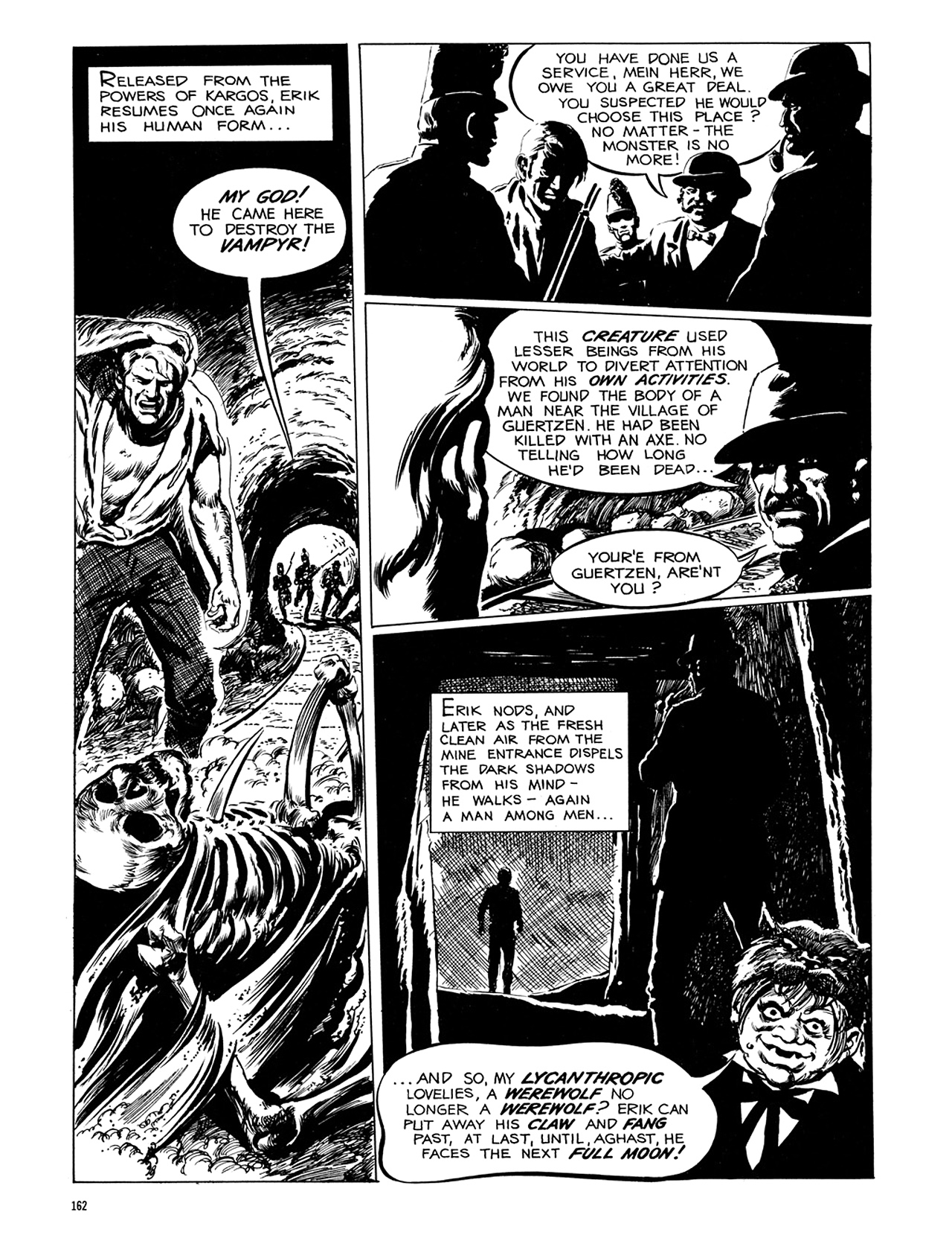 Read online Eerie Archives comic -  Issue # TPB 6 - 162