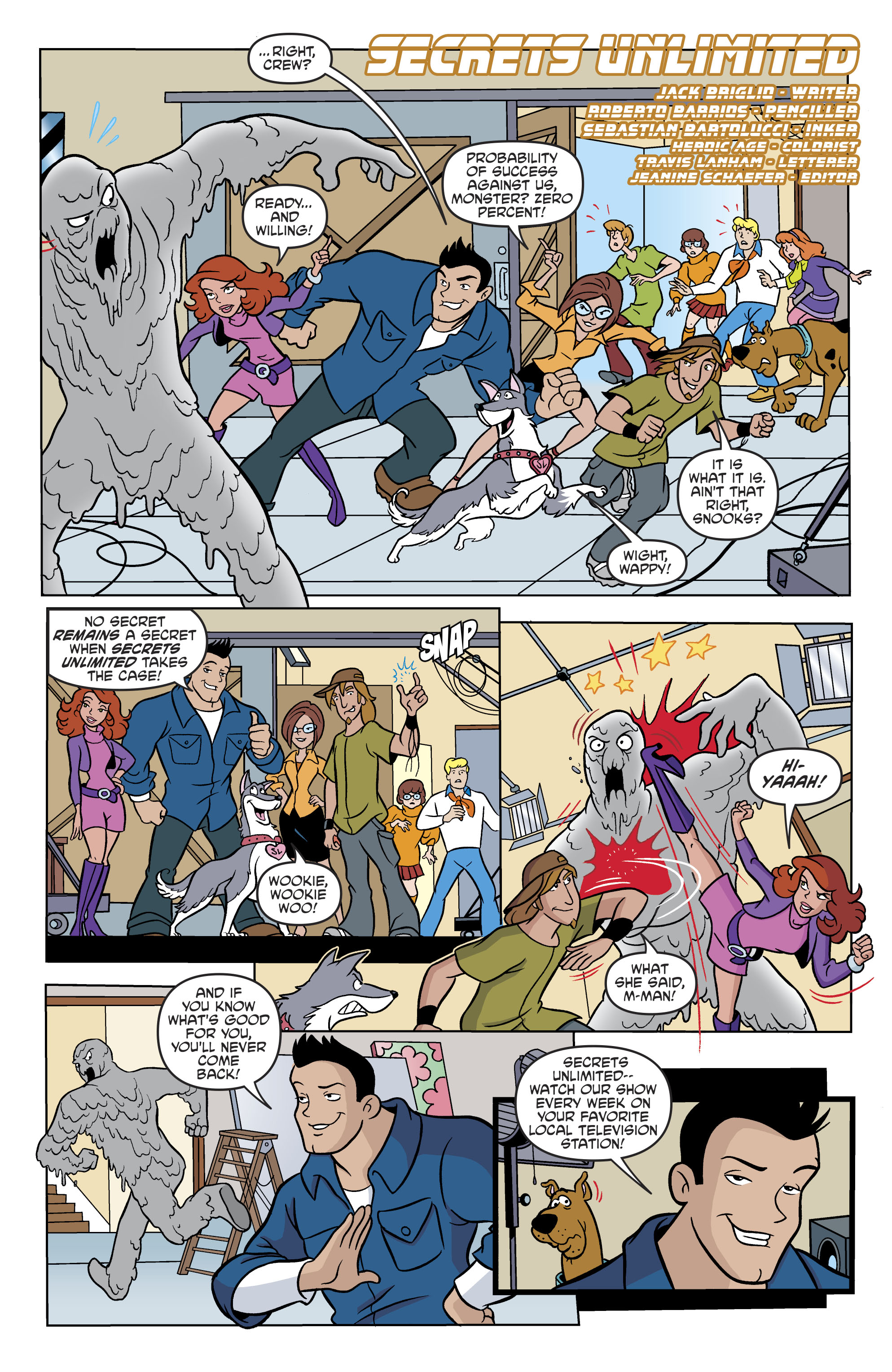 Read online Scooby-Doo: Where Are You? comic -  Issue #82 - 13