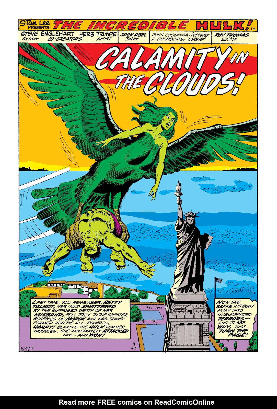 Read online Marvel Masterworks: The Incredible Hulk comic -  Issue # TPB 9 (Part 3) - 58
