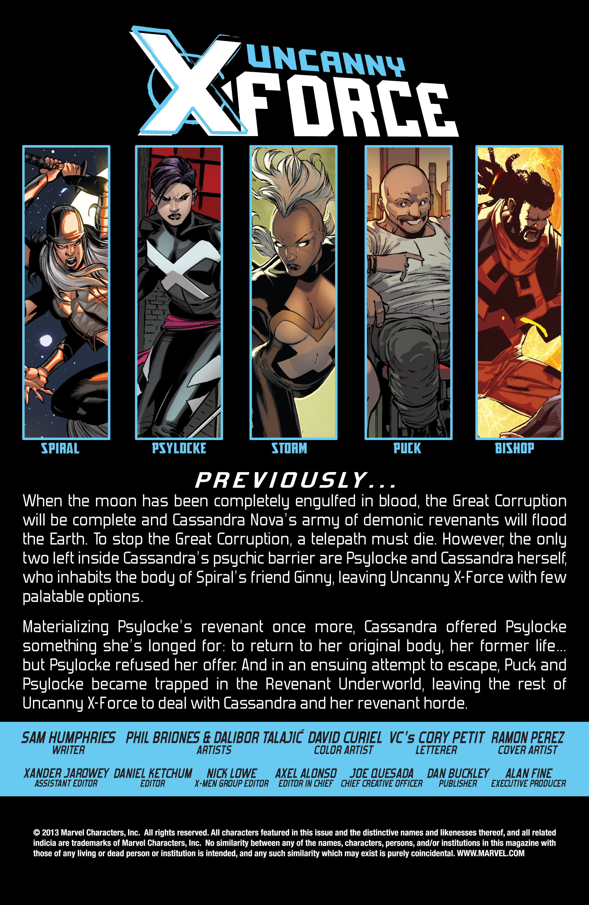 Read online Uncanny X-Force (2013) comic -  Issue #15 - 2